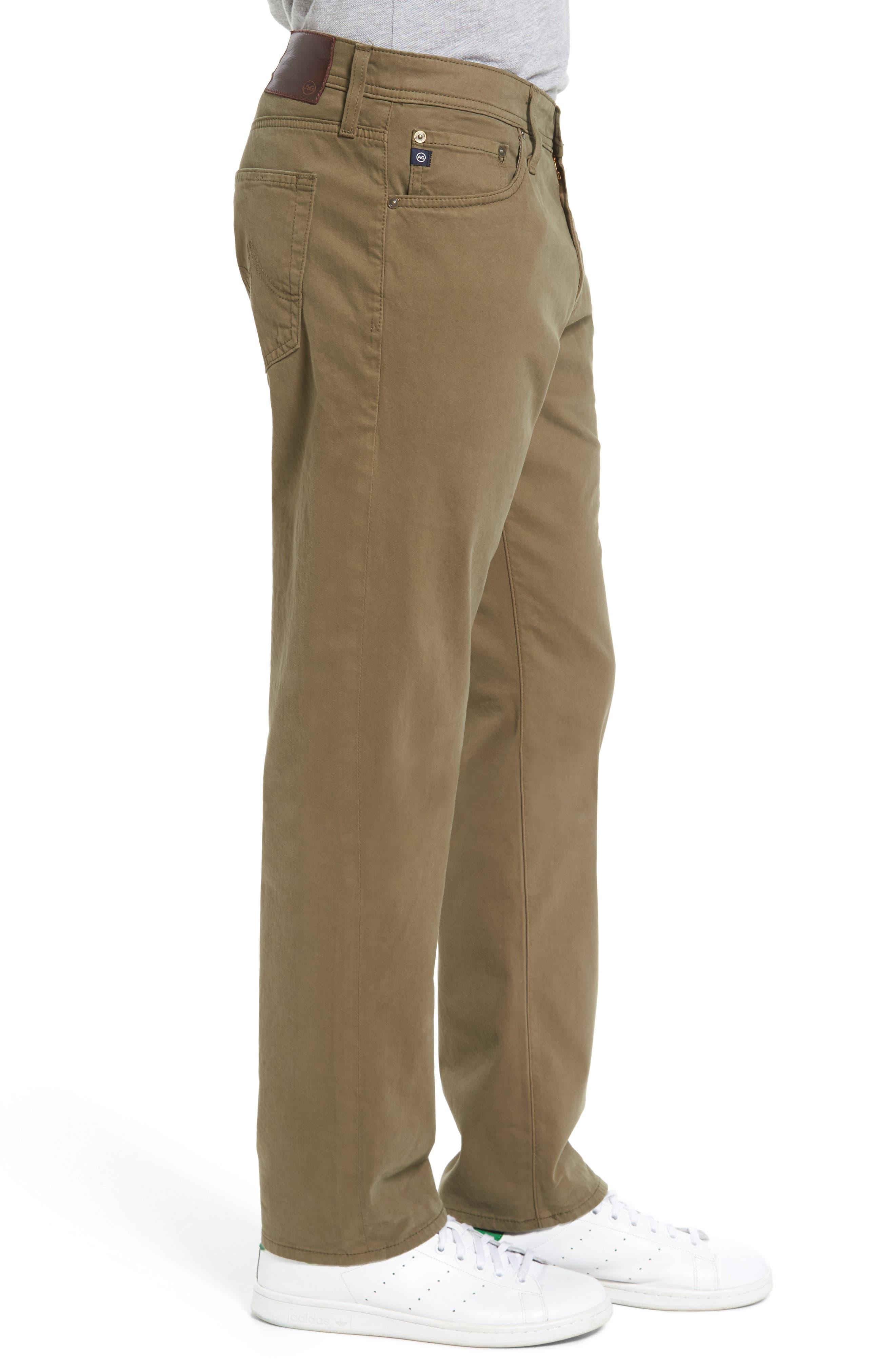 Graduate SUD Slim Straight Leg Pants,                             Alternate thumbnail 3, color,                             Caper Leaf