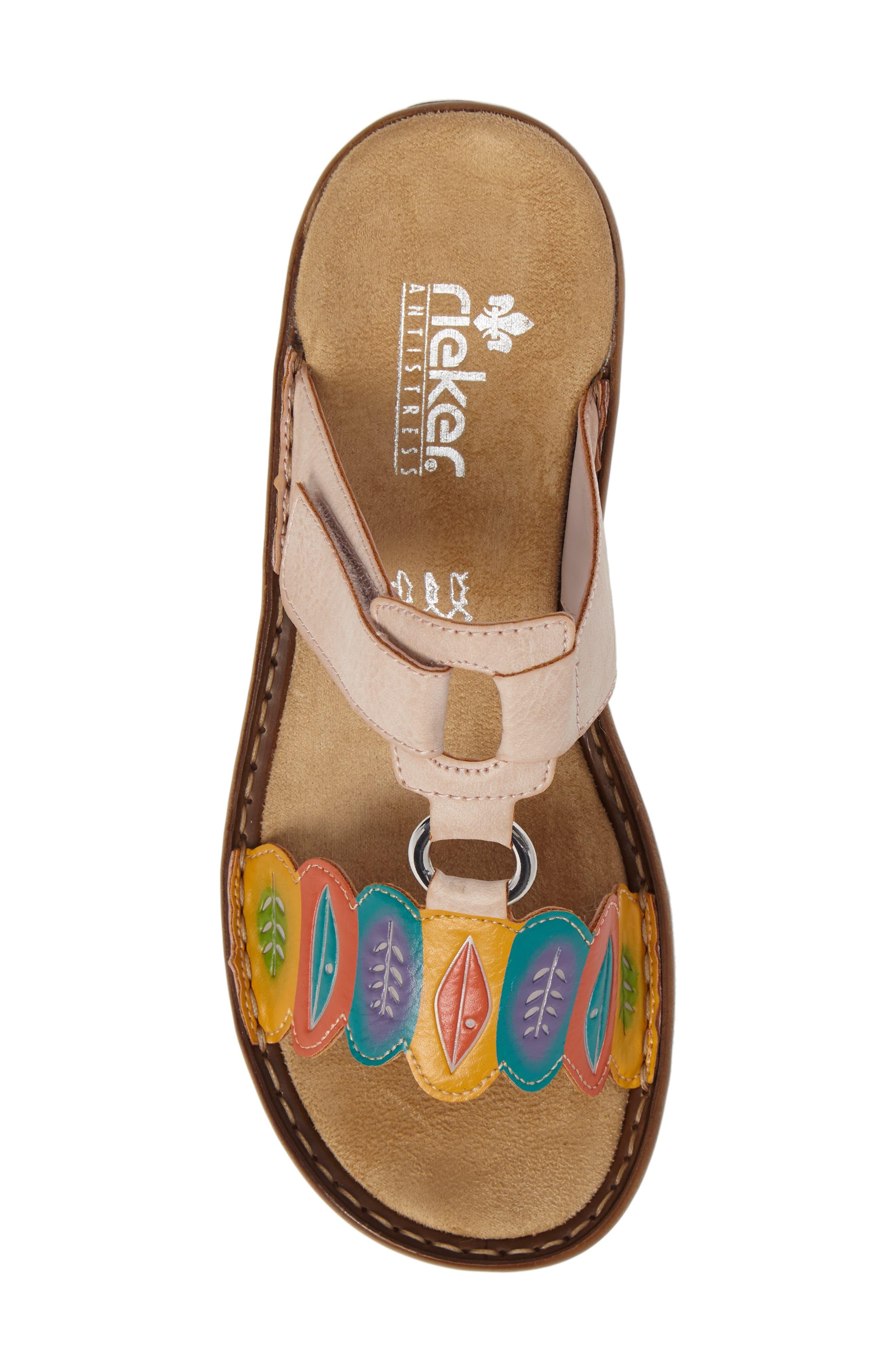 Alternate Image 5  - Rieker Antistress Regina R4 Slide Sandal (Women)