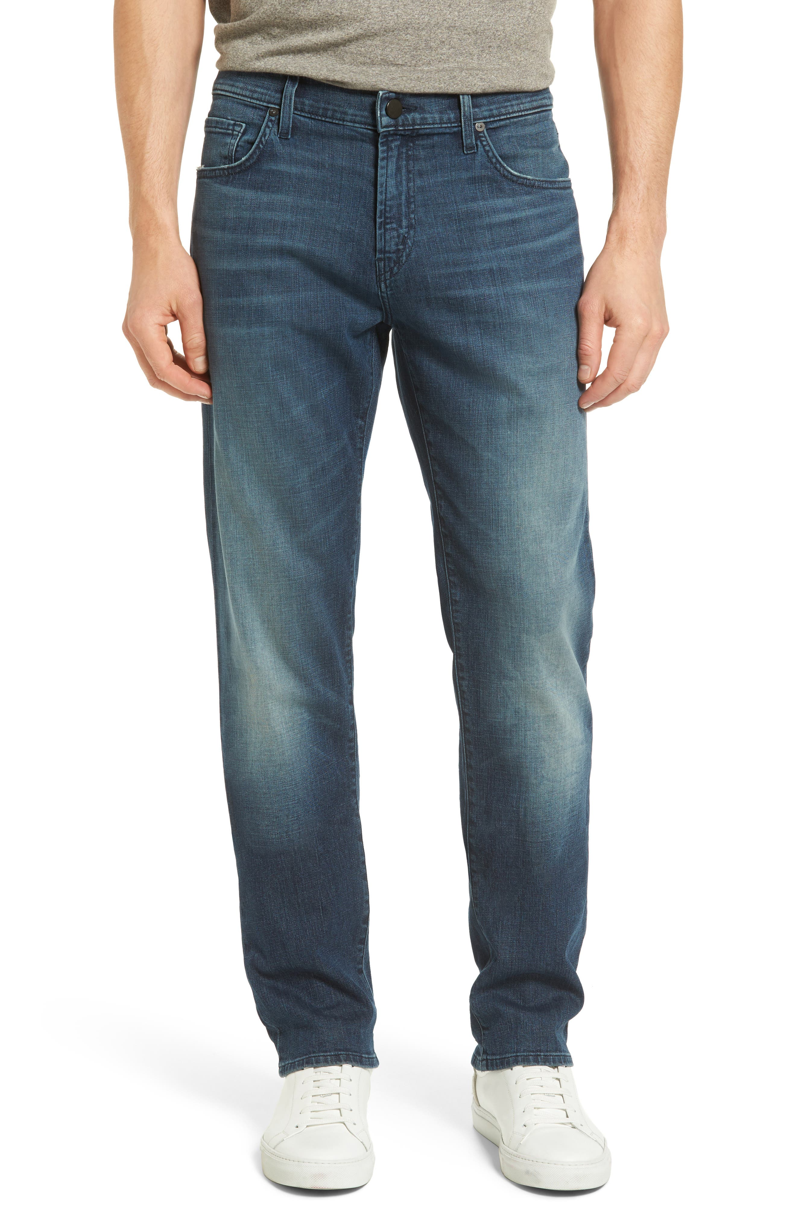 J Brand Kane Slim Straight Leg Jeans (Bridge)