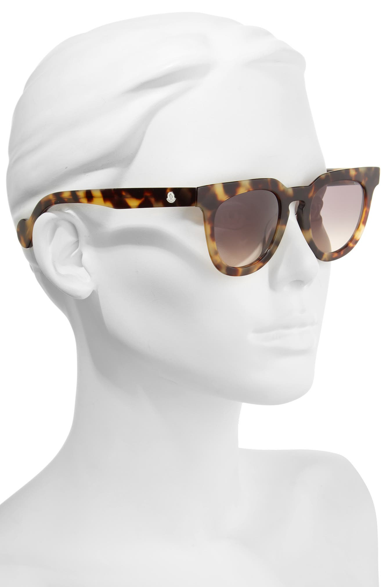 Alternate Image 2  - Moncler 48mm Retro Sunglasses