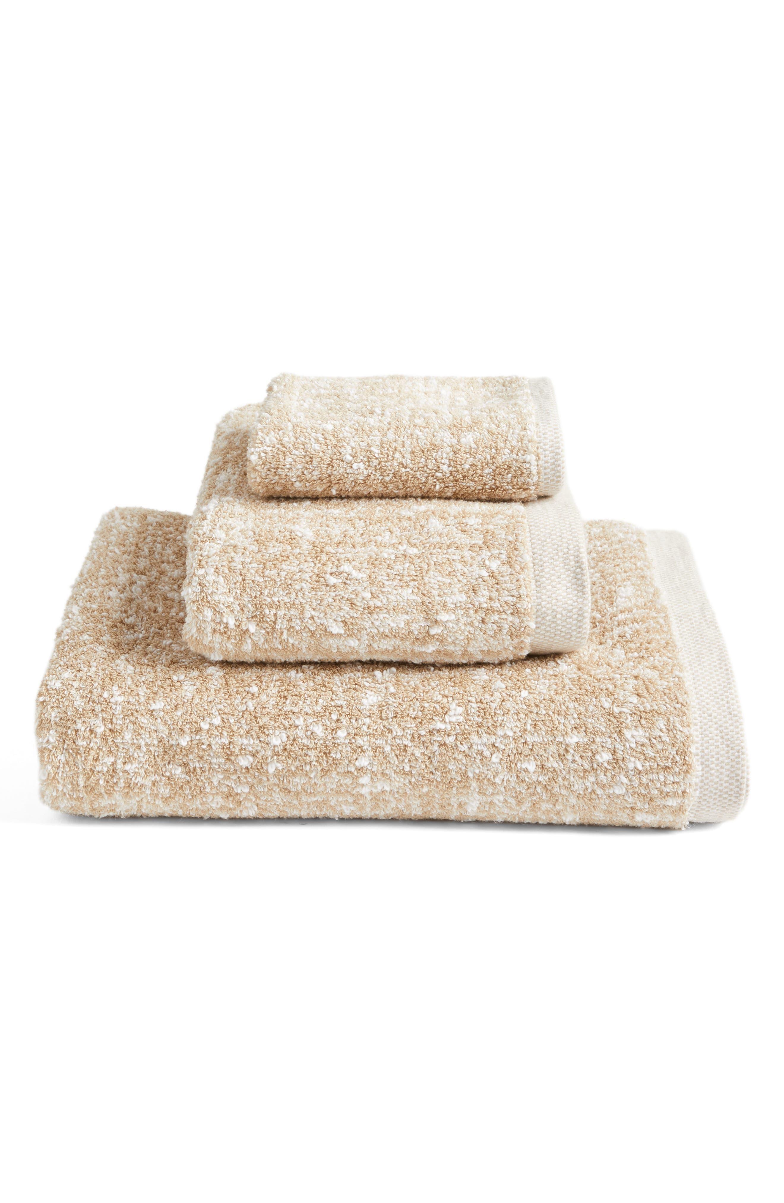 Alternate Image 3  - Nordstrom at Home Tweed Jacquard Bath Towel