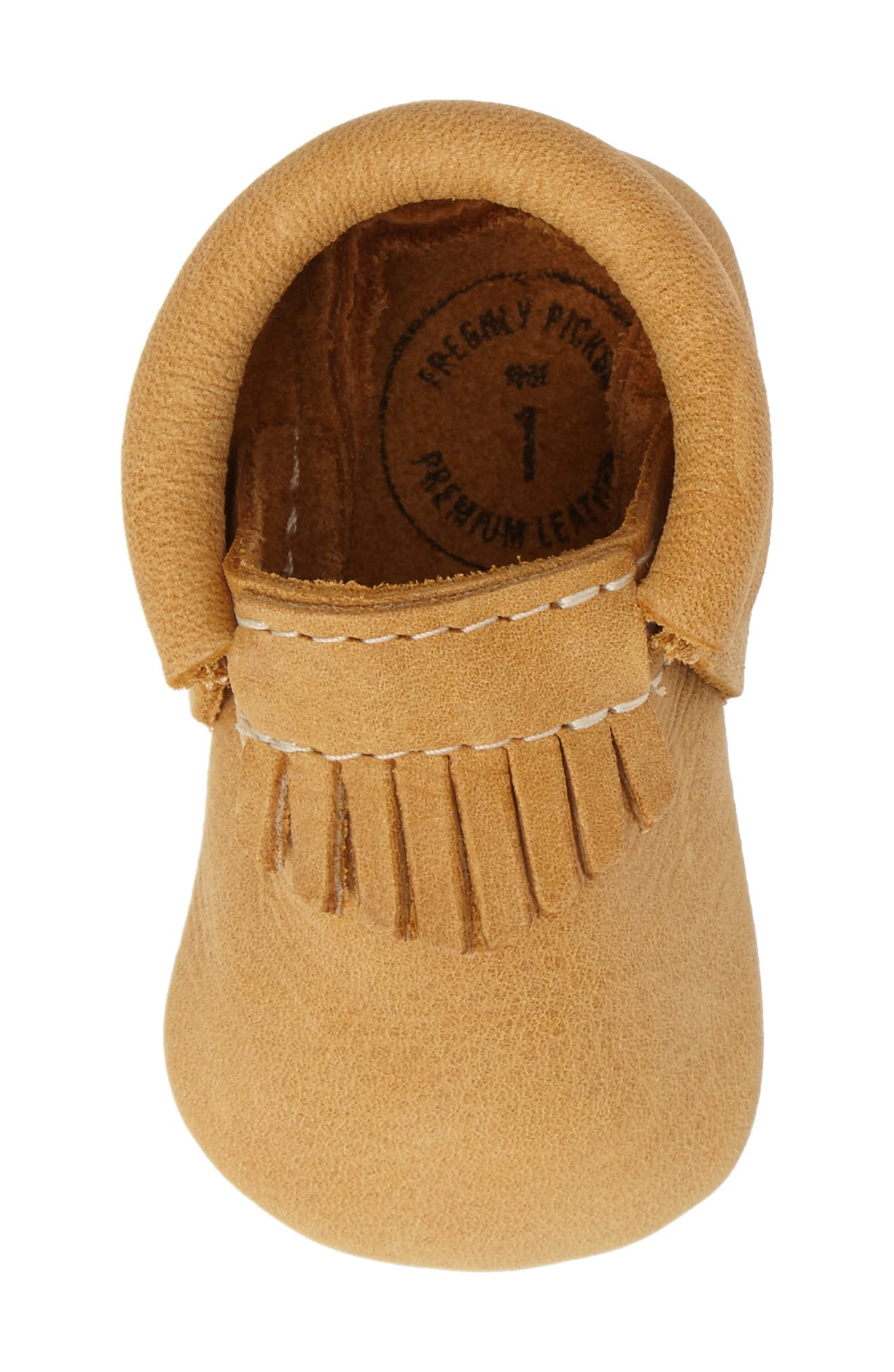 Alternate Image 5  - Freshly Picked City Moccasin (Baby & Walker)