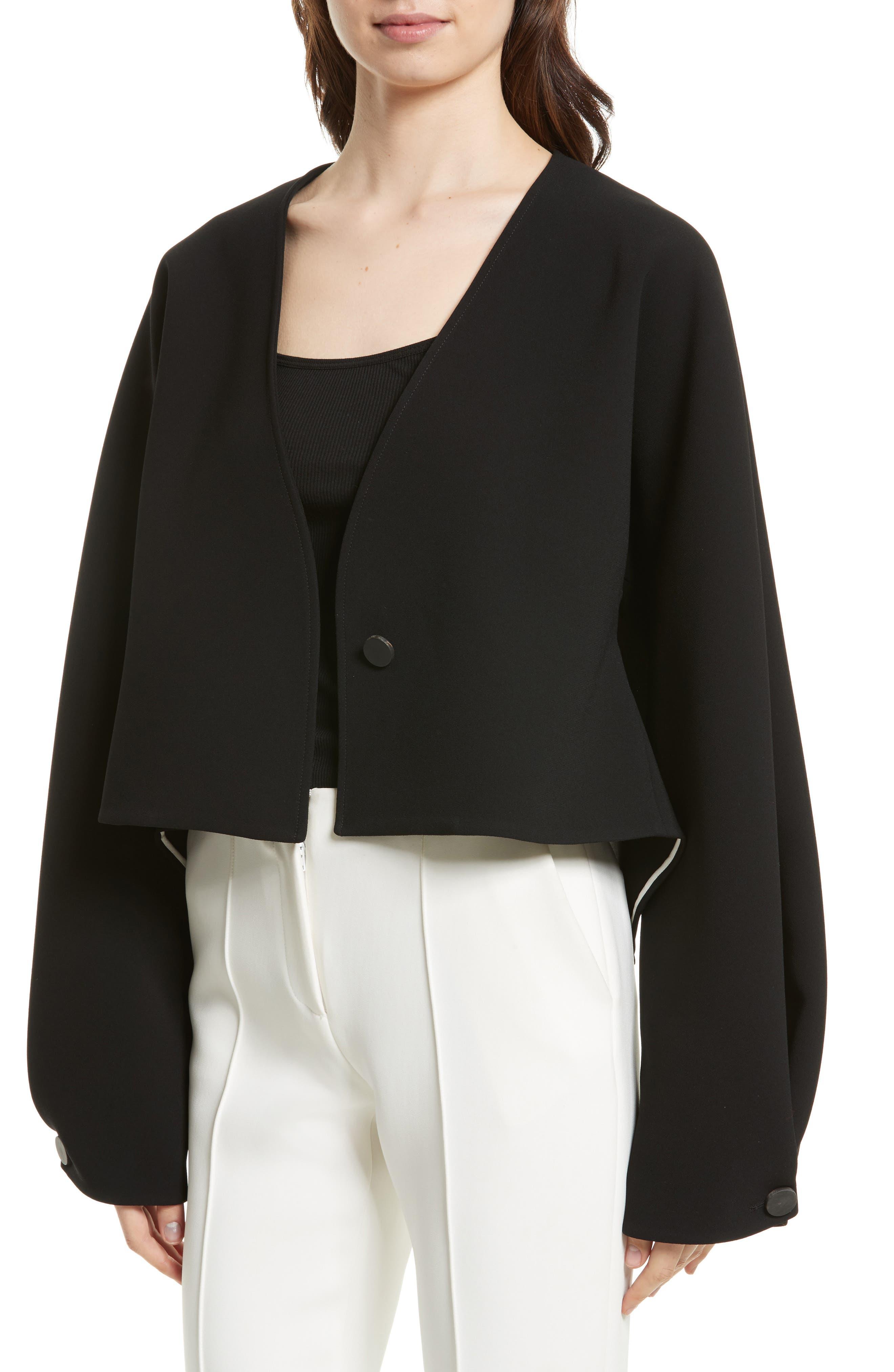 Alternate Image 4  - Diane von Furstenberg Crop Jacket
