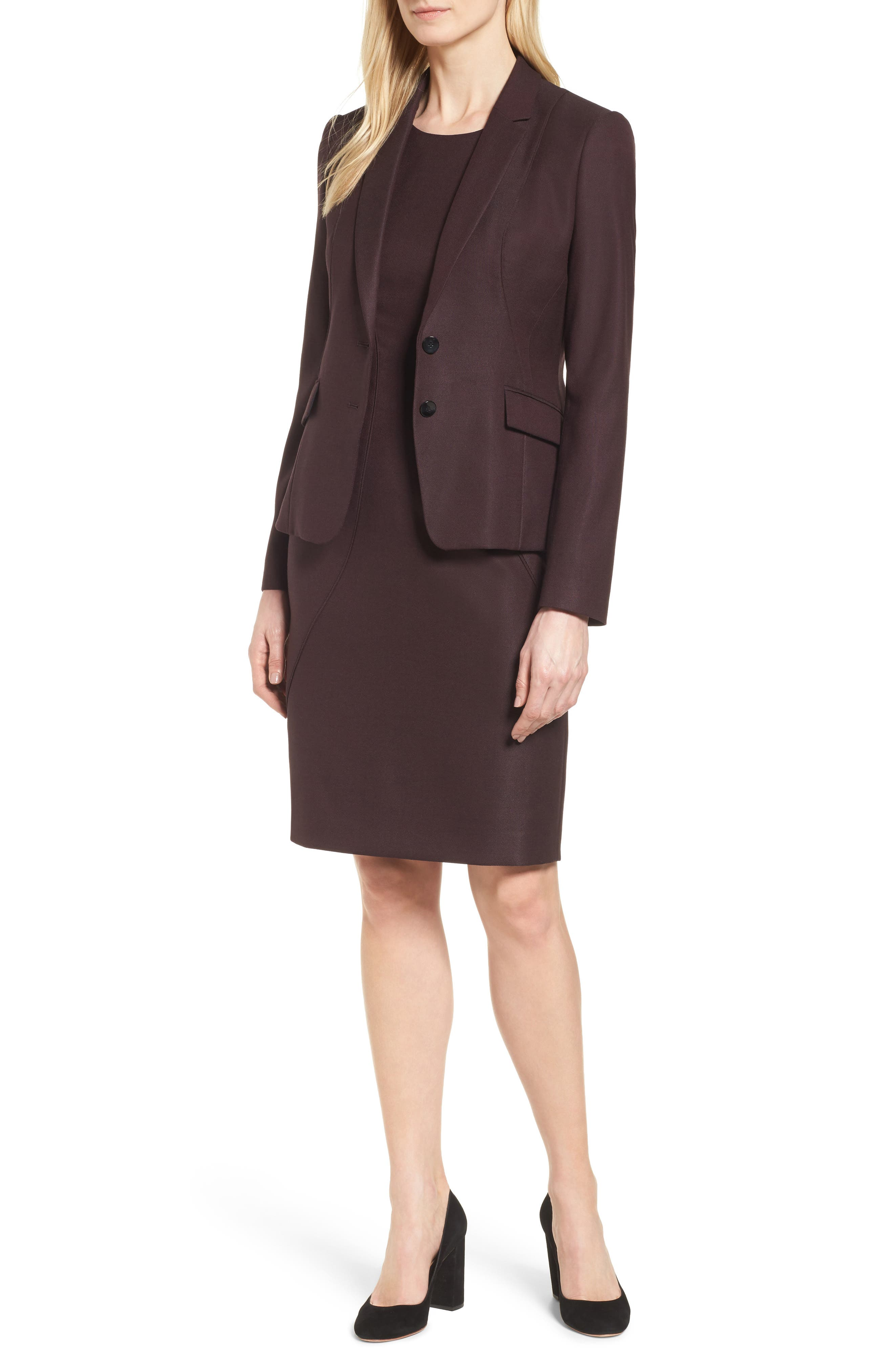 Alternate Image 2  - BOSS Denesa Sheath Dress