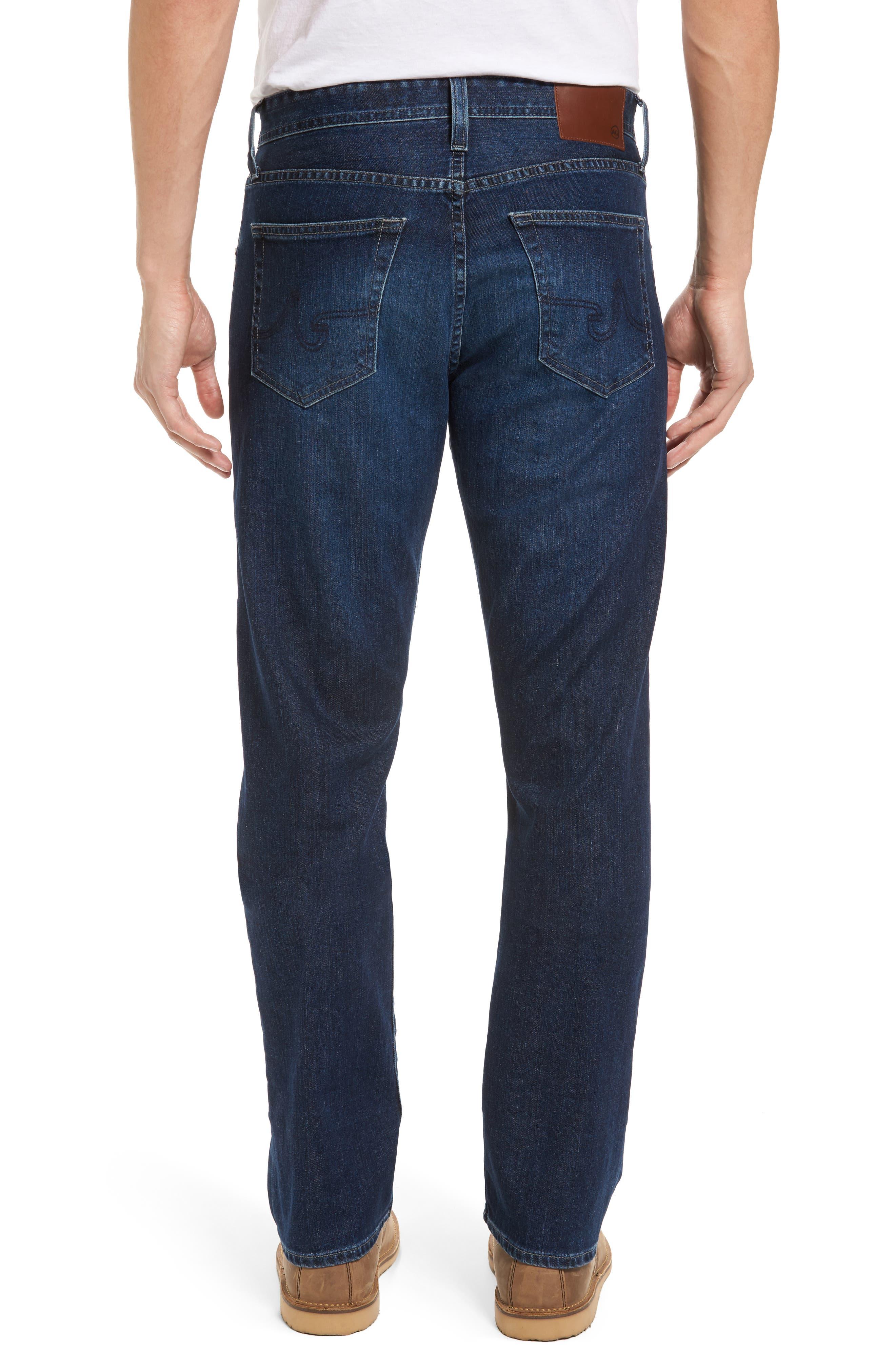 Alternate Image 2  - AG Ives Straight Leg Jeans (Brackett)