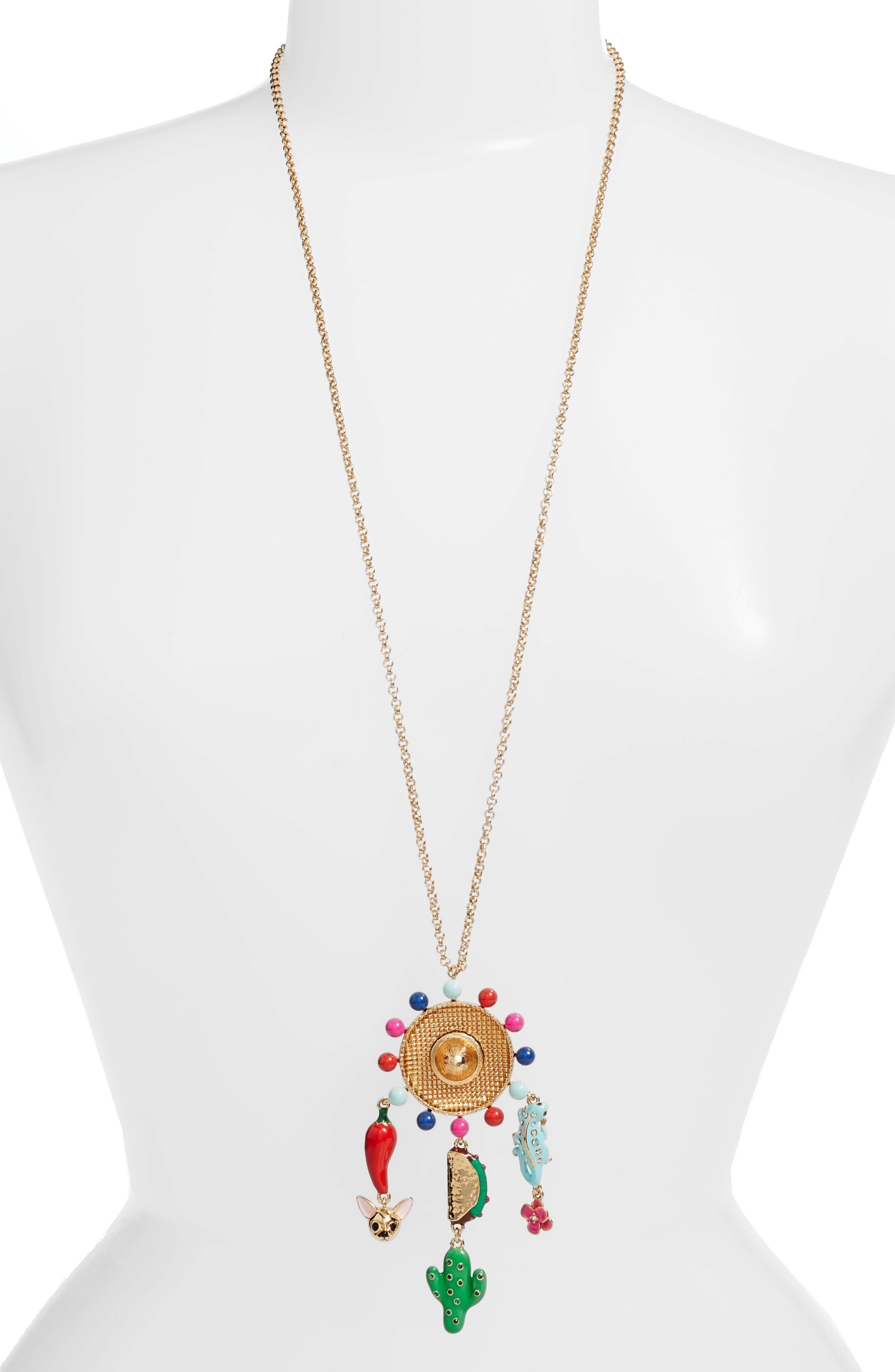 KATE SPADE NEW YORK fiesta pendant necklace