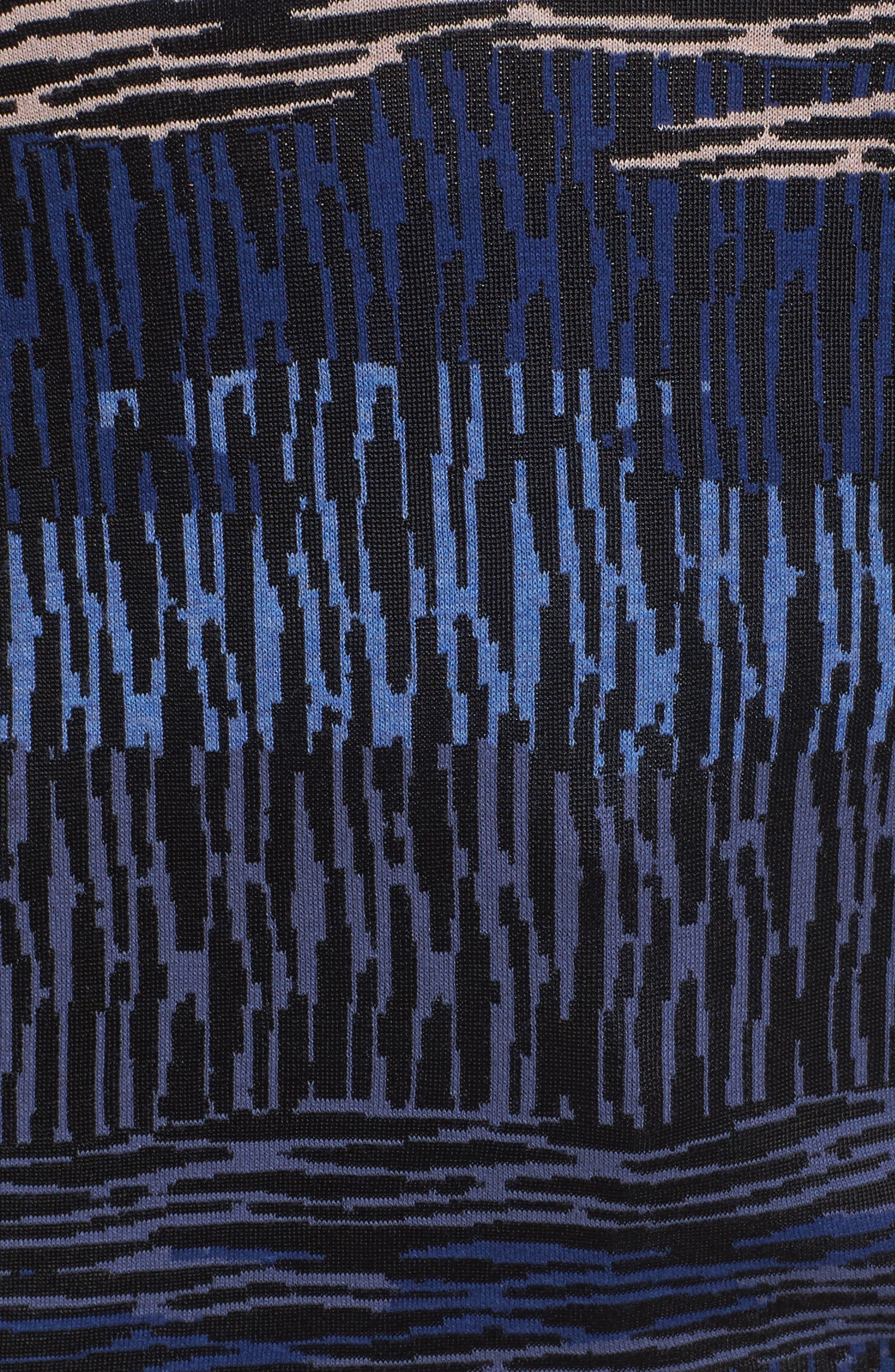 Verona Jacquard Pullover,                             Alternate thumbnail 5, color,                             Eclipse