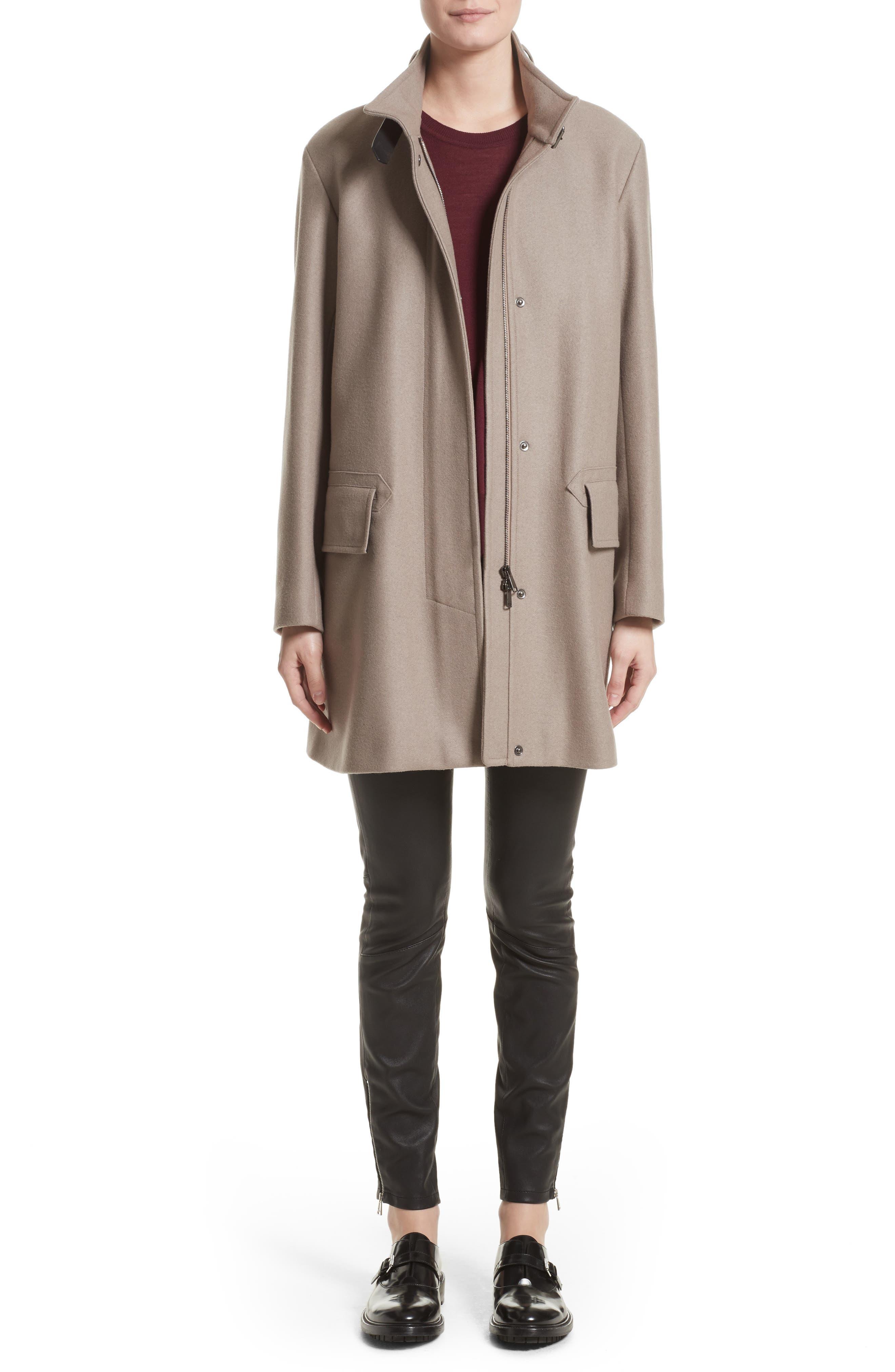 Alternate Image 7  - Belstaff Moryah Wool Blend Coat