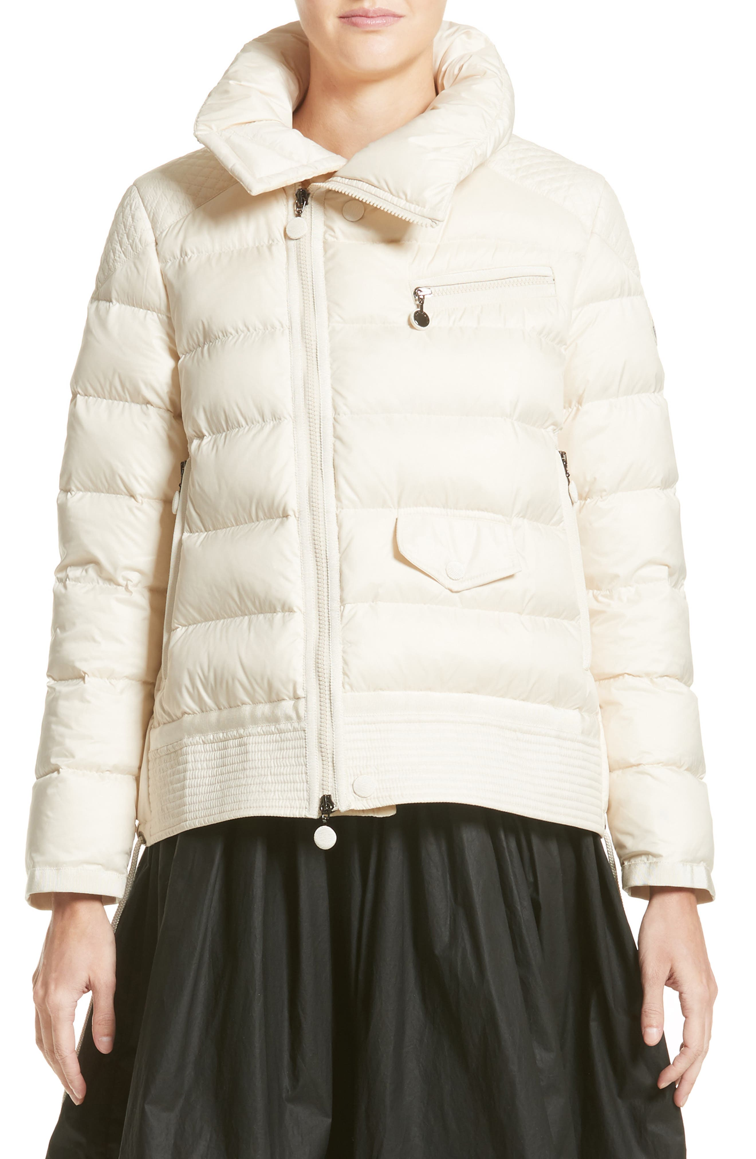 Margaret Down Puffer Jacket,                             Main thumbnail 1, color,                             Cream