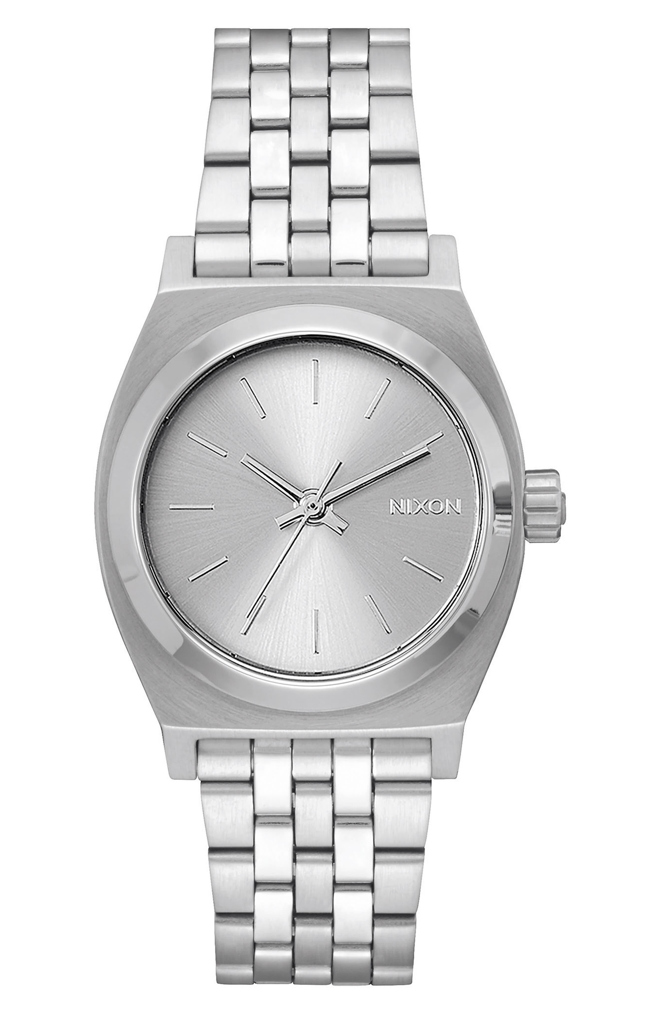 Time Teller Bracelet Watch, 31mm,                             Main thumbnail 1, color,                             Silver