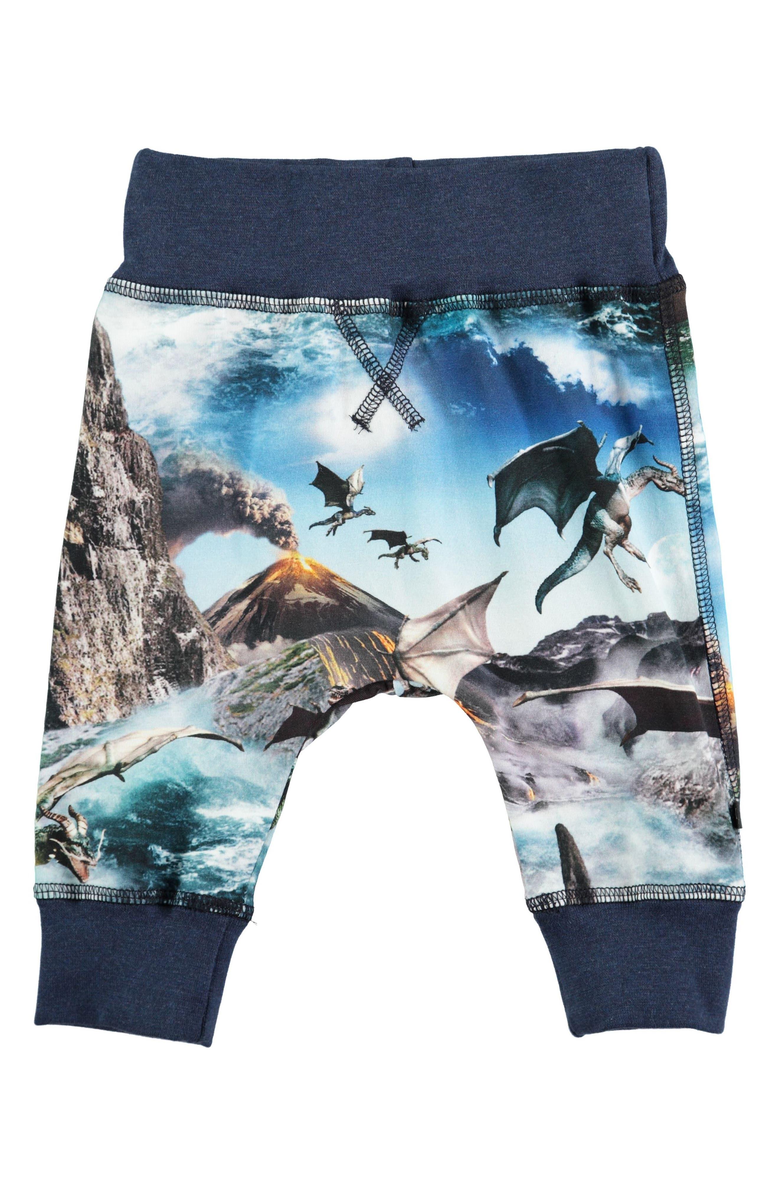 Sammy Print Jogger Pants,                         Main,                         color, Dragon Island