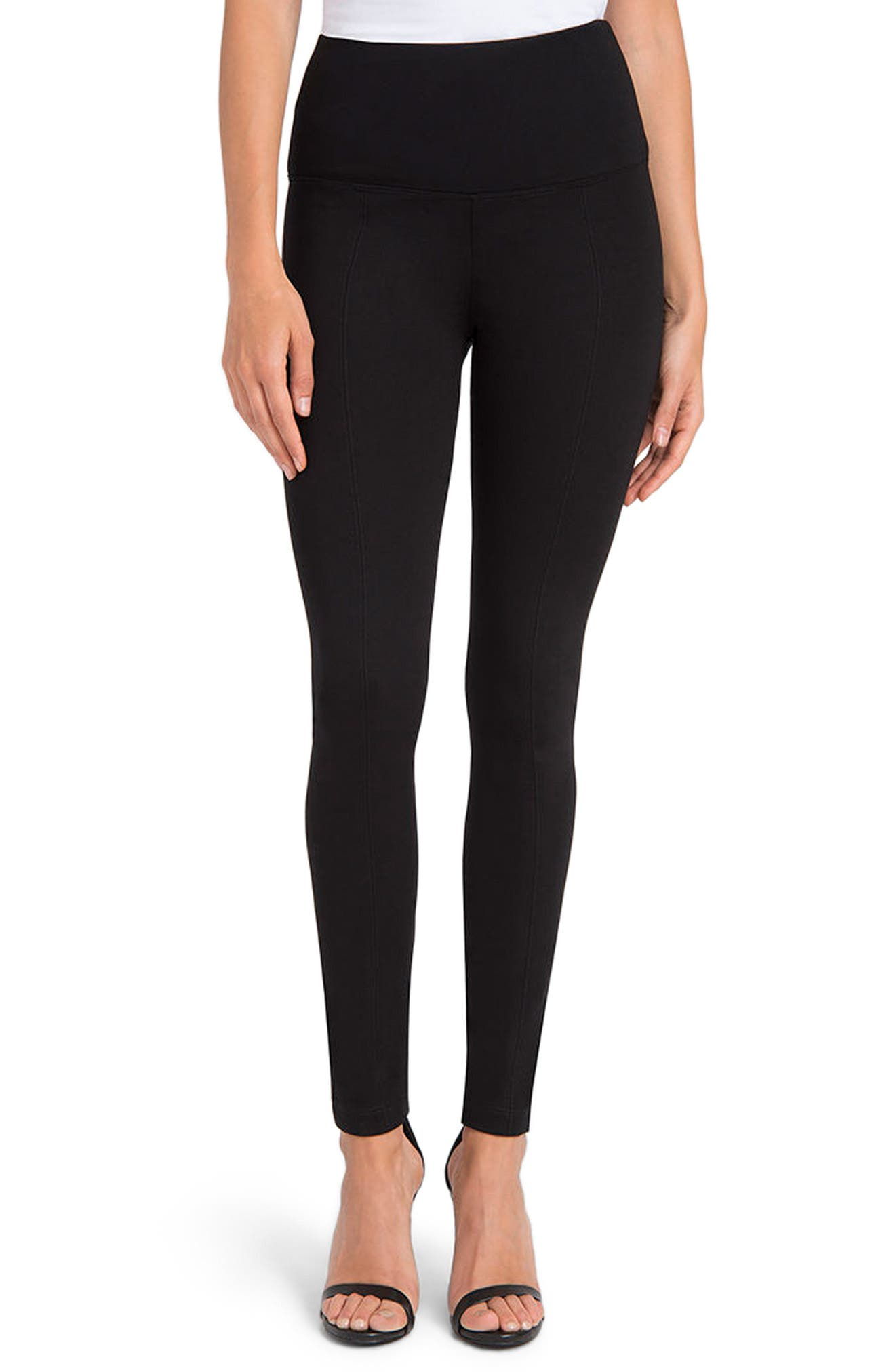 Alternate Image 1 Selected - Lyssé Center Seam Ponte Leggings
