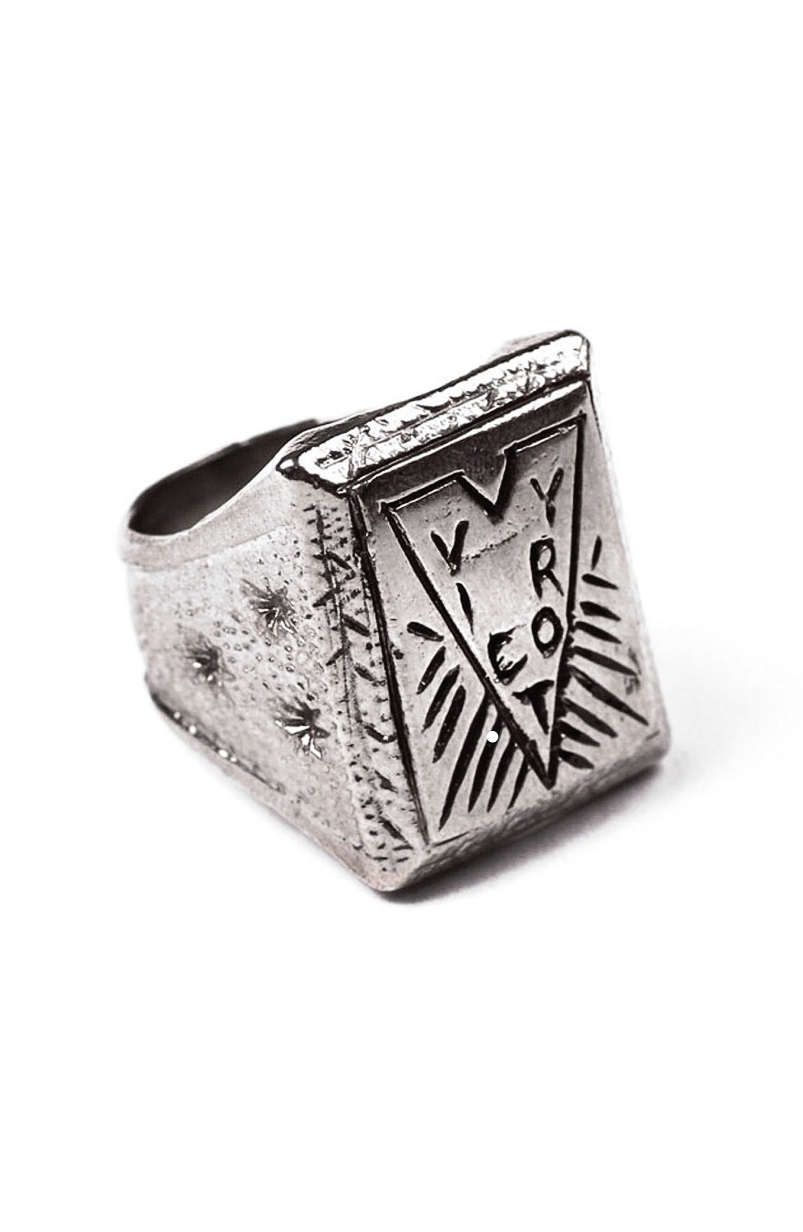 Victory Ring,                             Main thumbnail 1, color,                             White Bronze