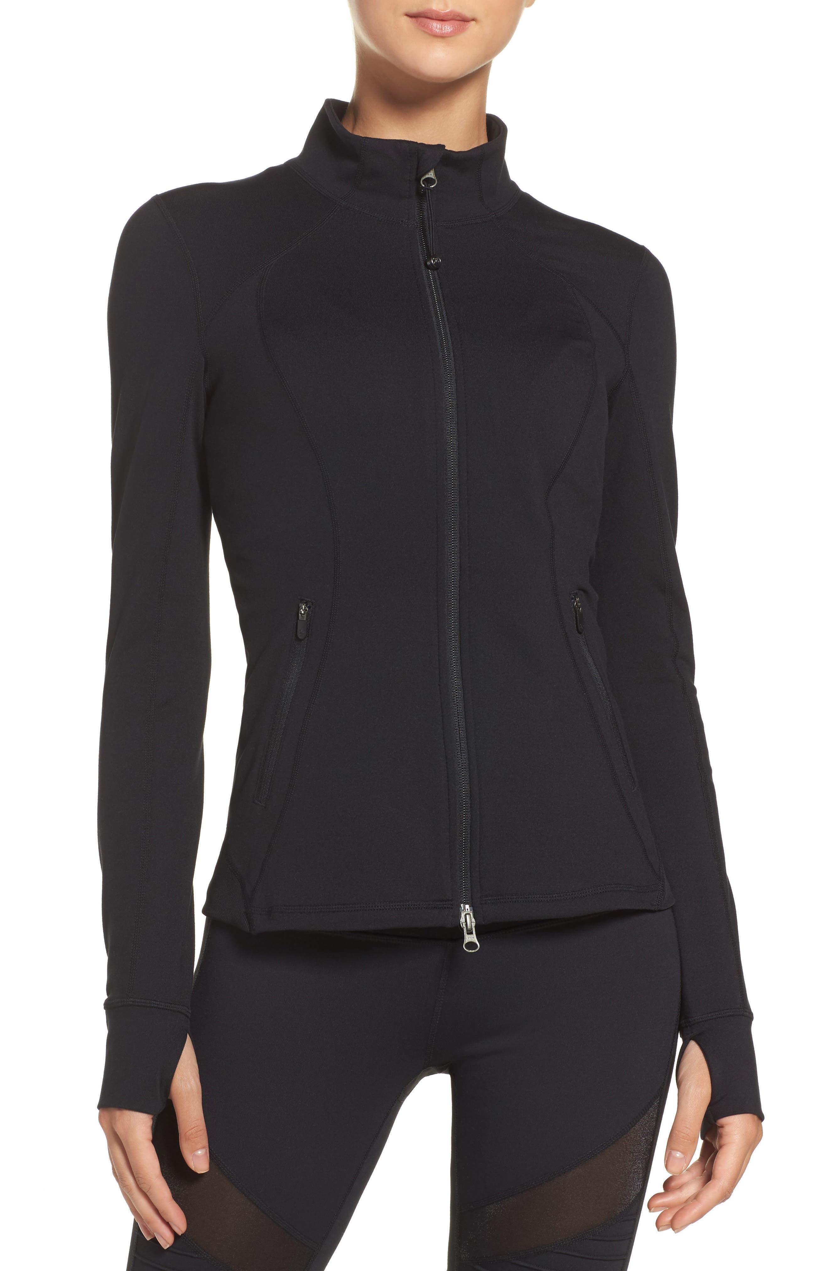 Presence Training Jacket,                         Main,                         color, Black