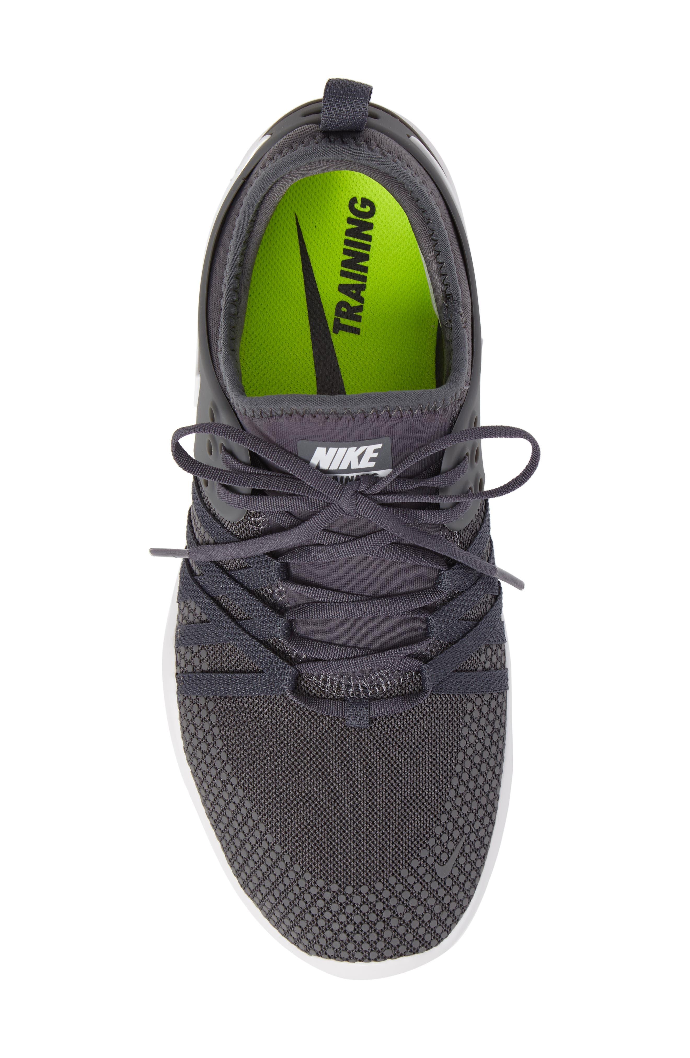 Free TR 7 Training Shoe,                             Alternate thumbnail 5, color,                             Dark Grey/ White
