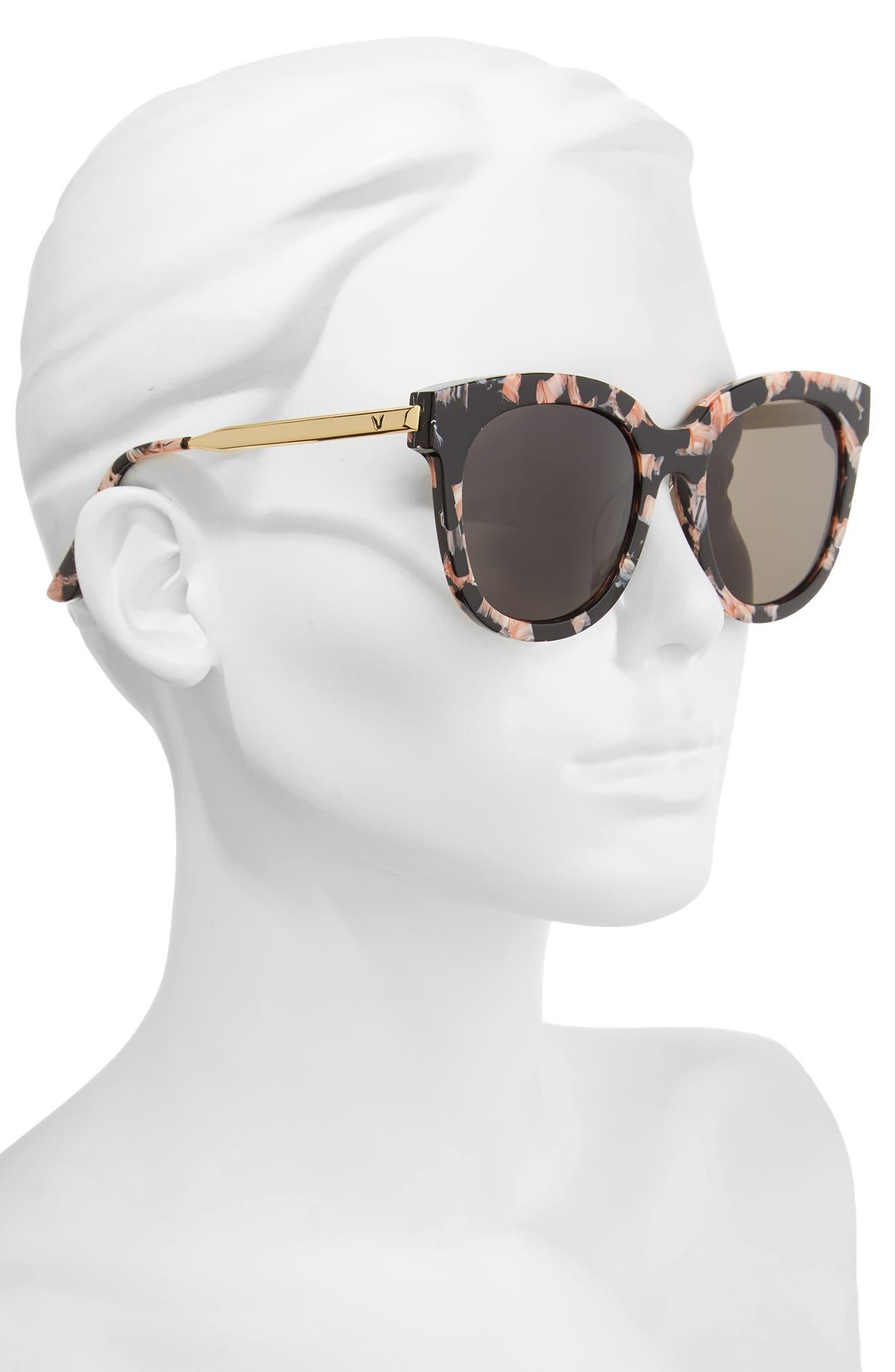 Cuba 503 55mm Zeiss Lens Sunglasses,                             Alternate thumbnail 2, color,                             Purple/ Gold