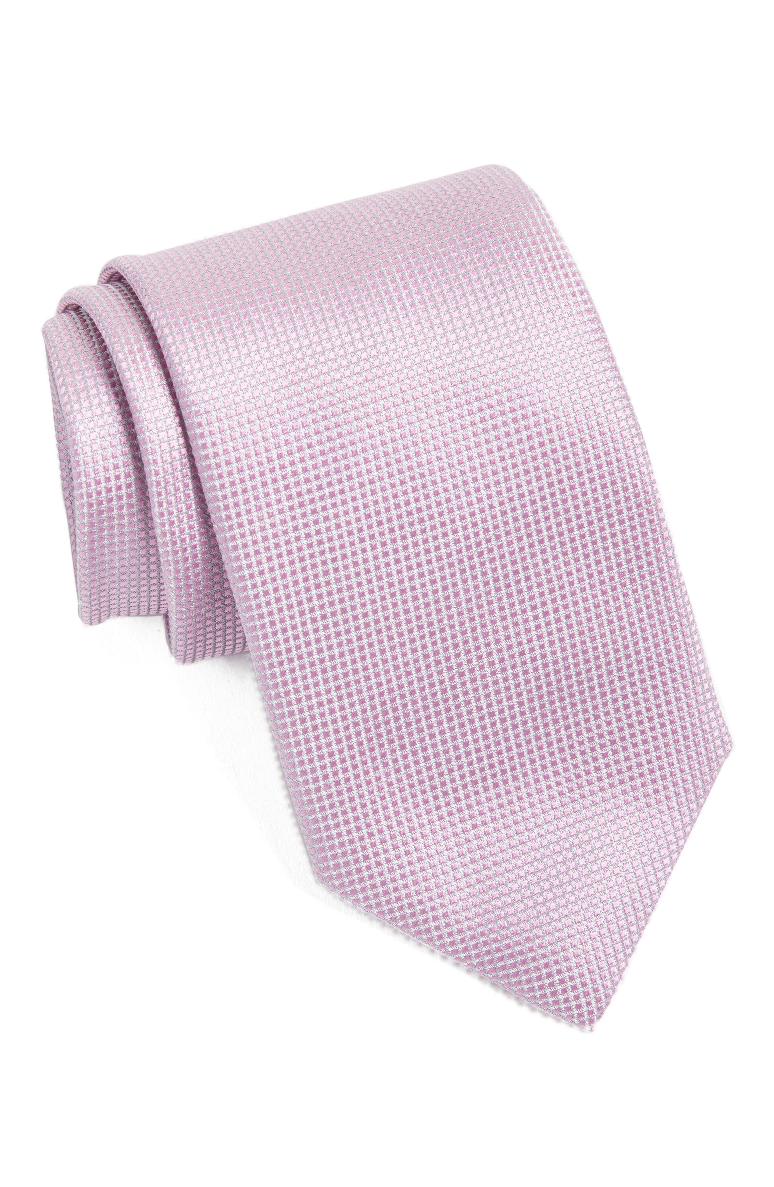 Main Image - Canali Solid Silk Tie
