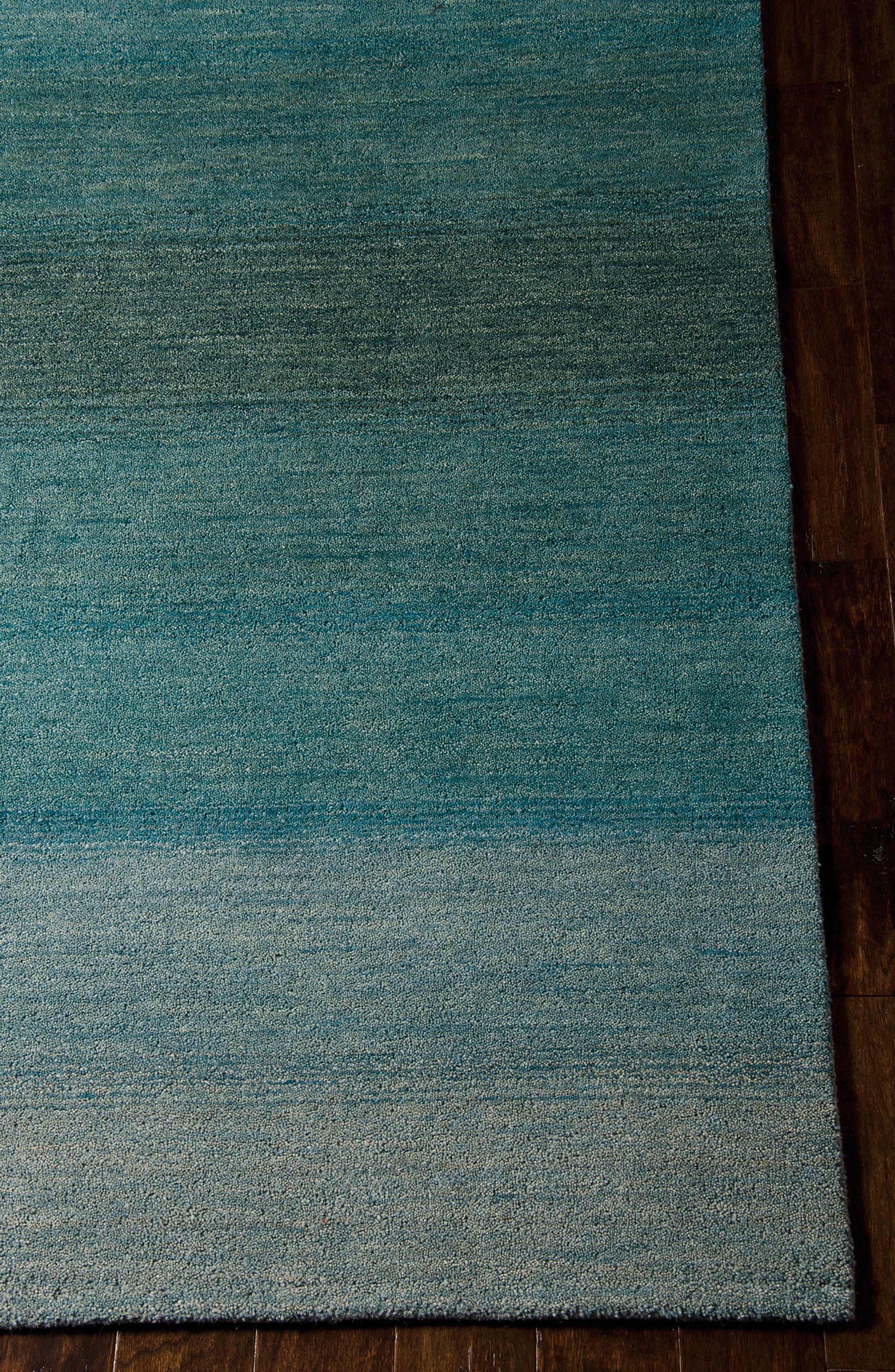 Alternate Image 3  - Calvin Klein Linear Glow Wool Rug
