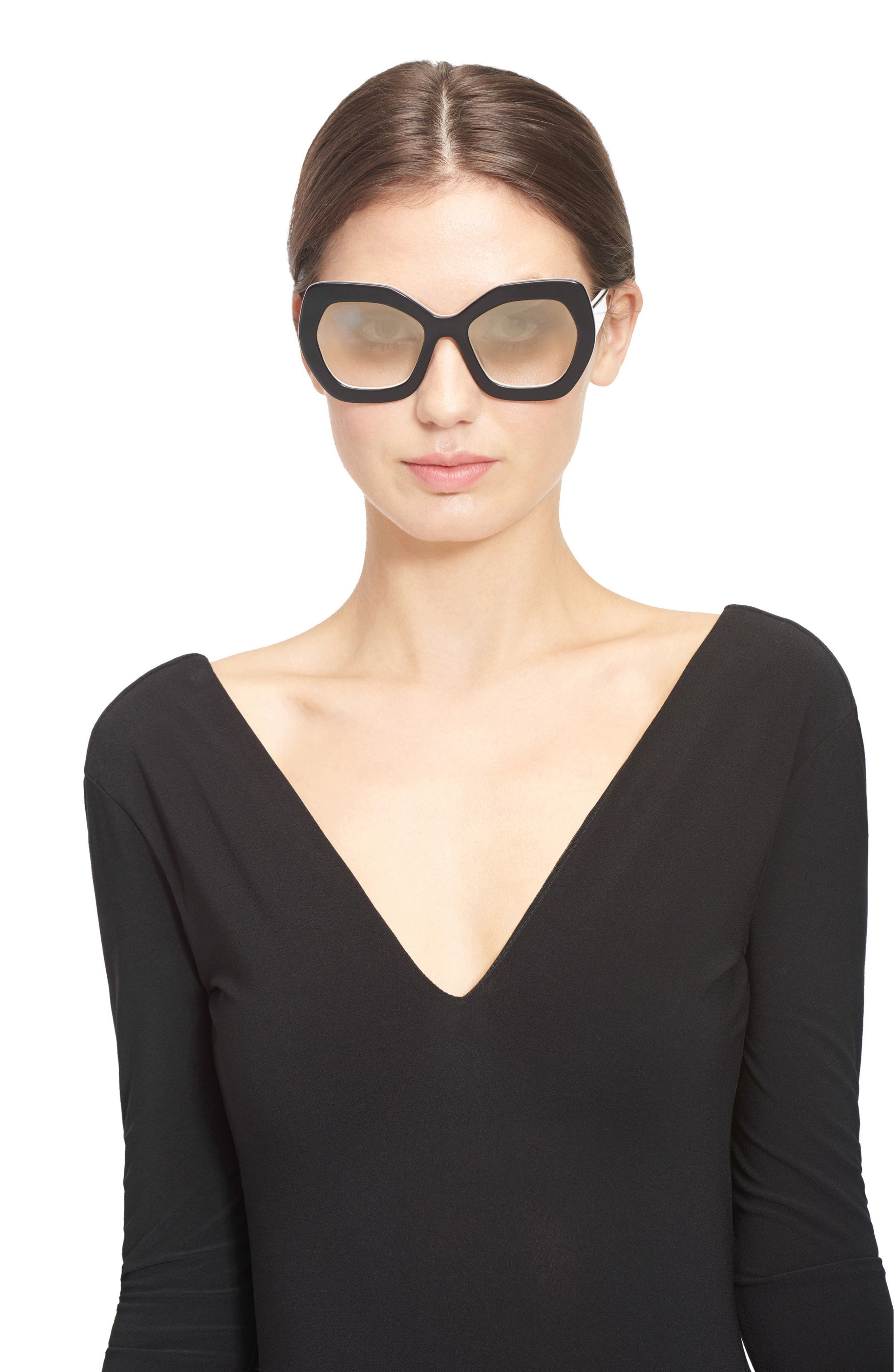 Alternate Image 3  - Alice + Olivia Dinah 55mm Butterfly Sunglasses