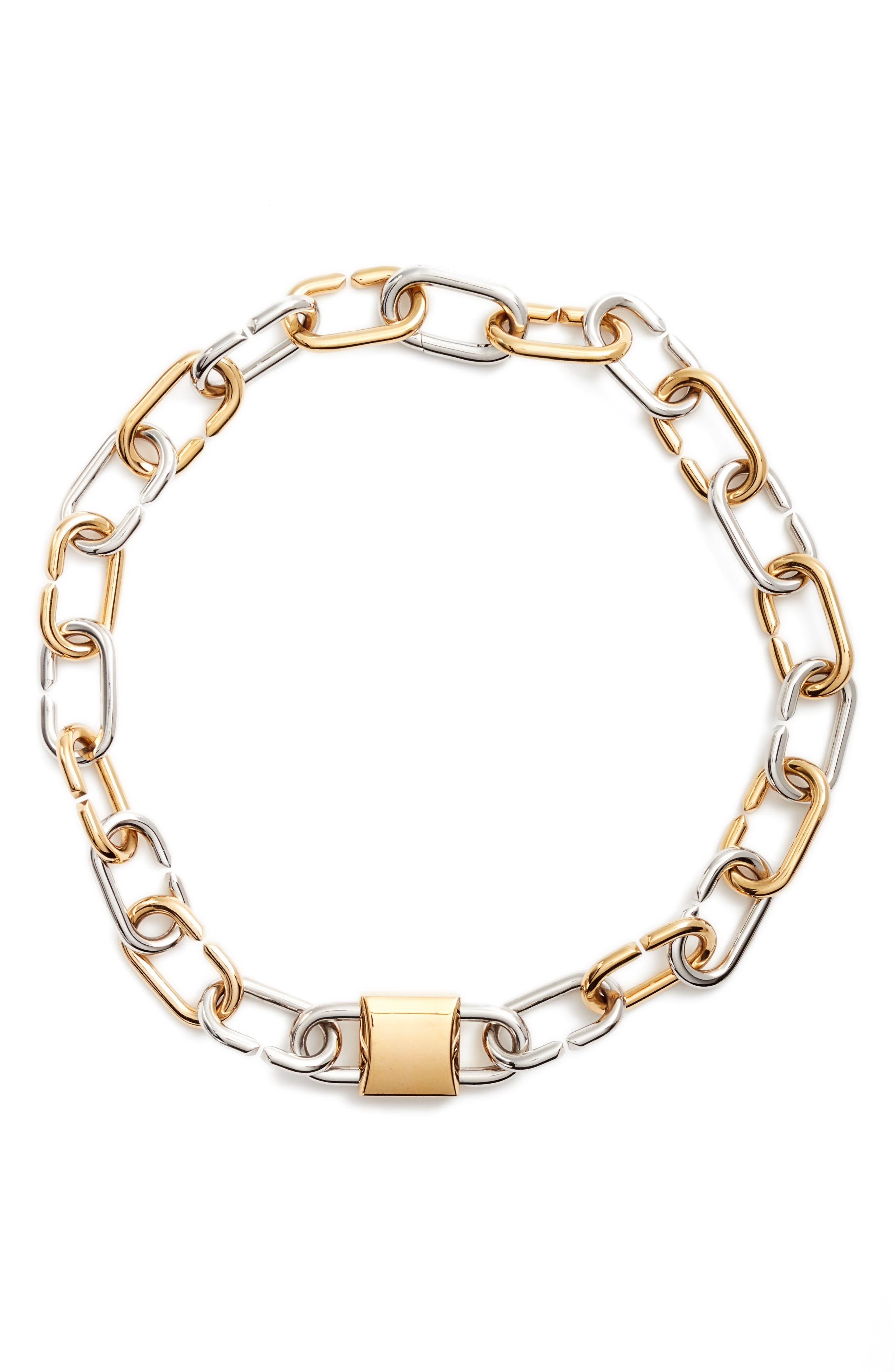 Alexander Wang Link Collar Necklace