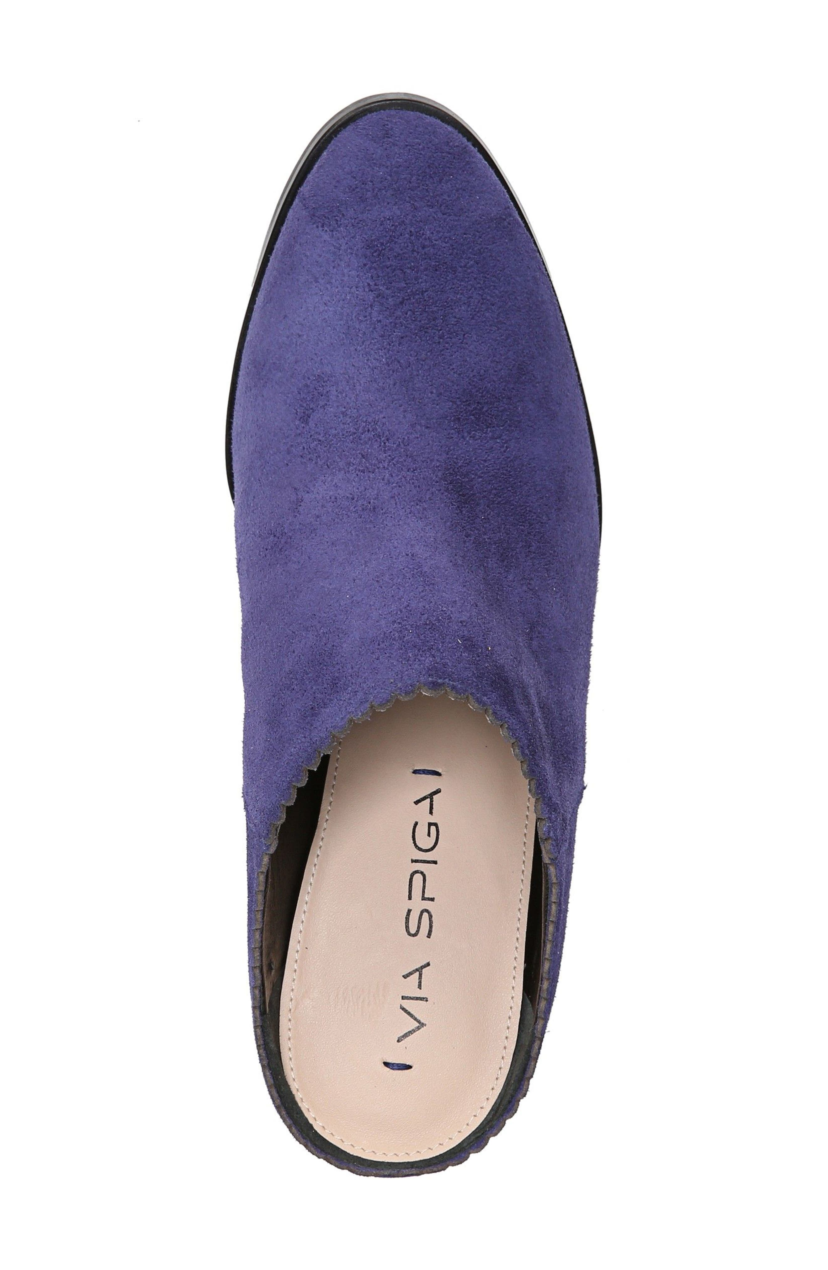 Alternate Image 5  - Via Spiga Sophia Block Heel Mule (Women)