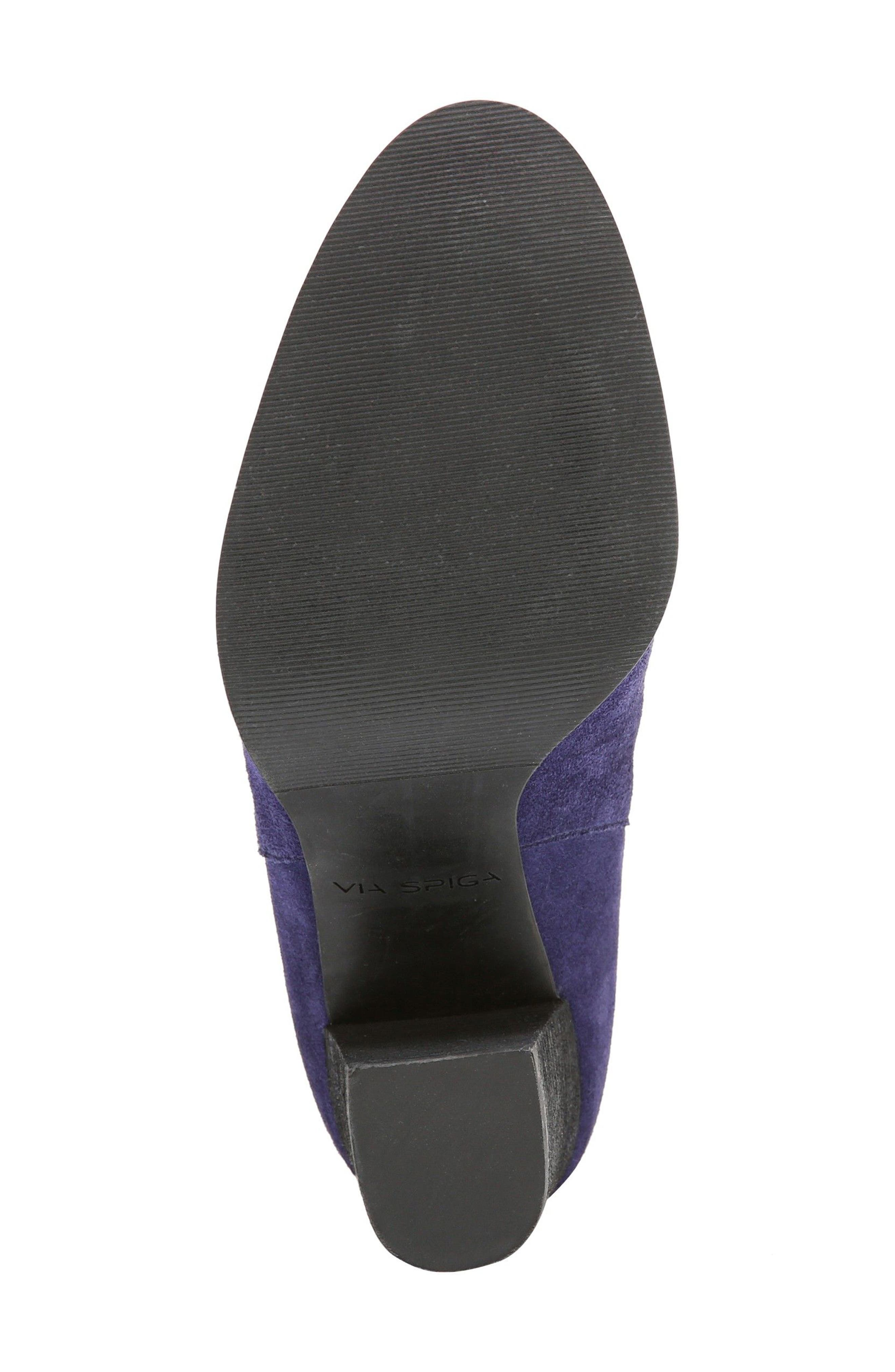 Alternate Image 6  - Via Spiga Sophia Block Heel Mule (Women)