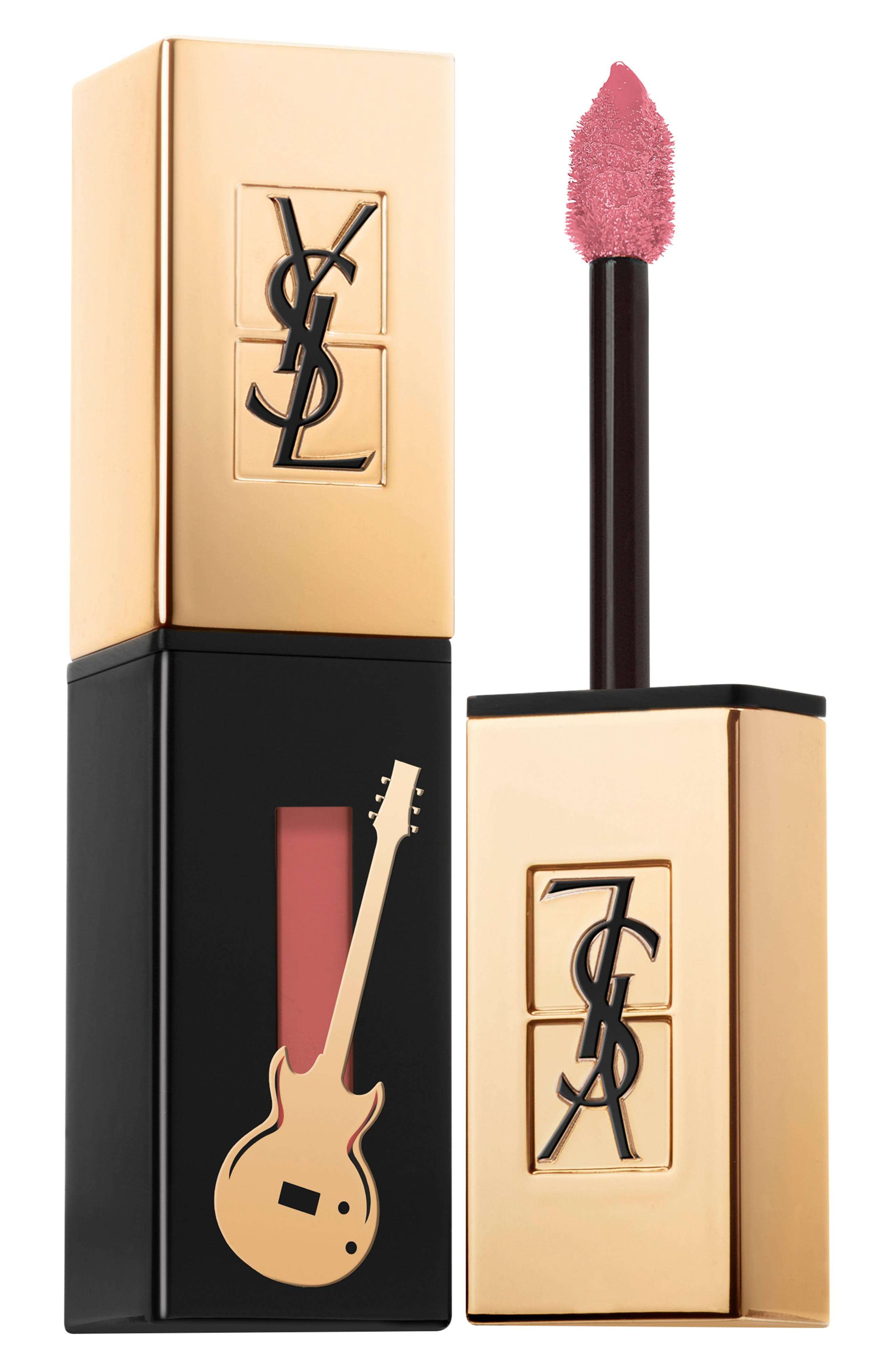 Glossy Stain Guitar Edition Lip Color,                             Main thumbnail 1, color,                             7 Corail Aquatique