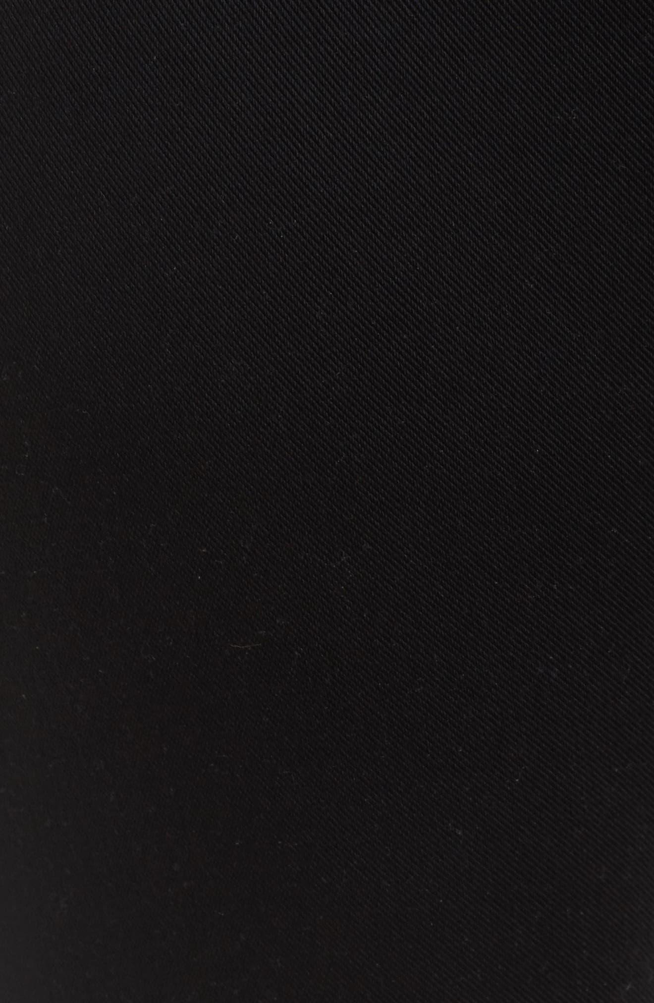 Jean-ish Leggings,                             Alternate thumbnail 6, color,                             Black