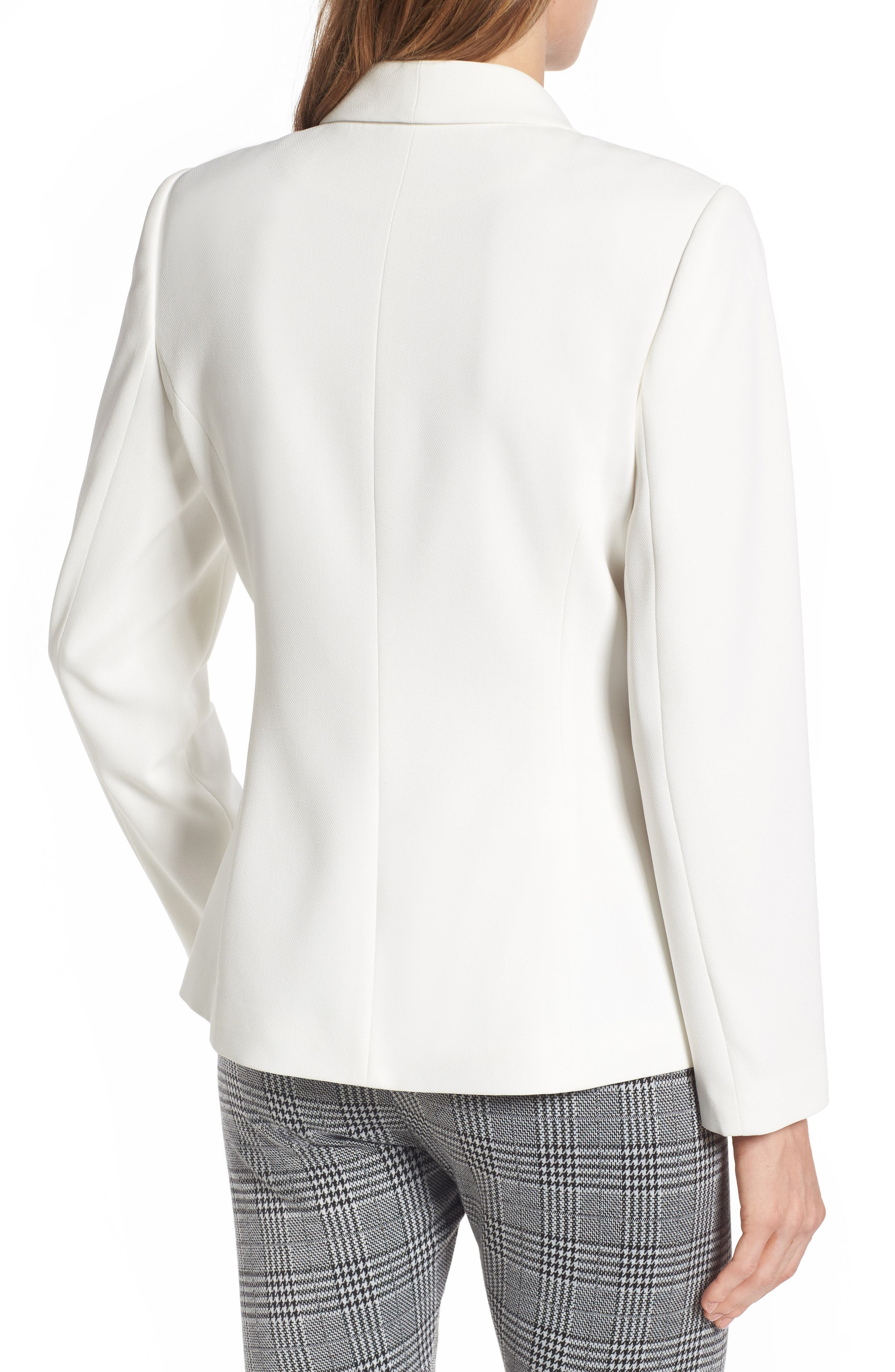Alternate Image 2  - Vince Camuto Texture Base Blazer (Regular & Petite)