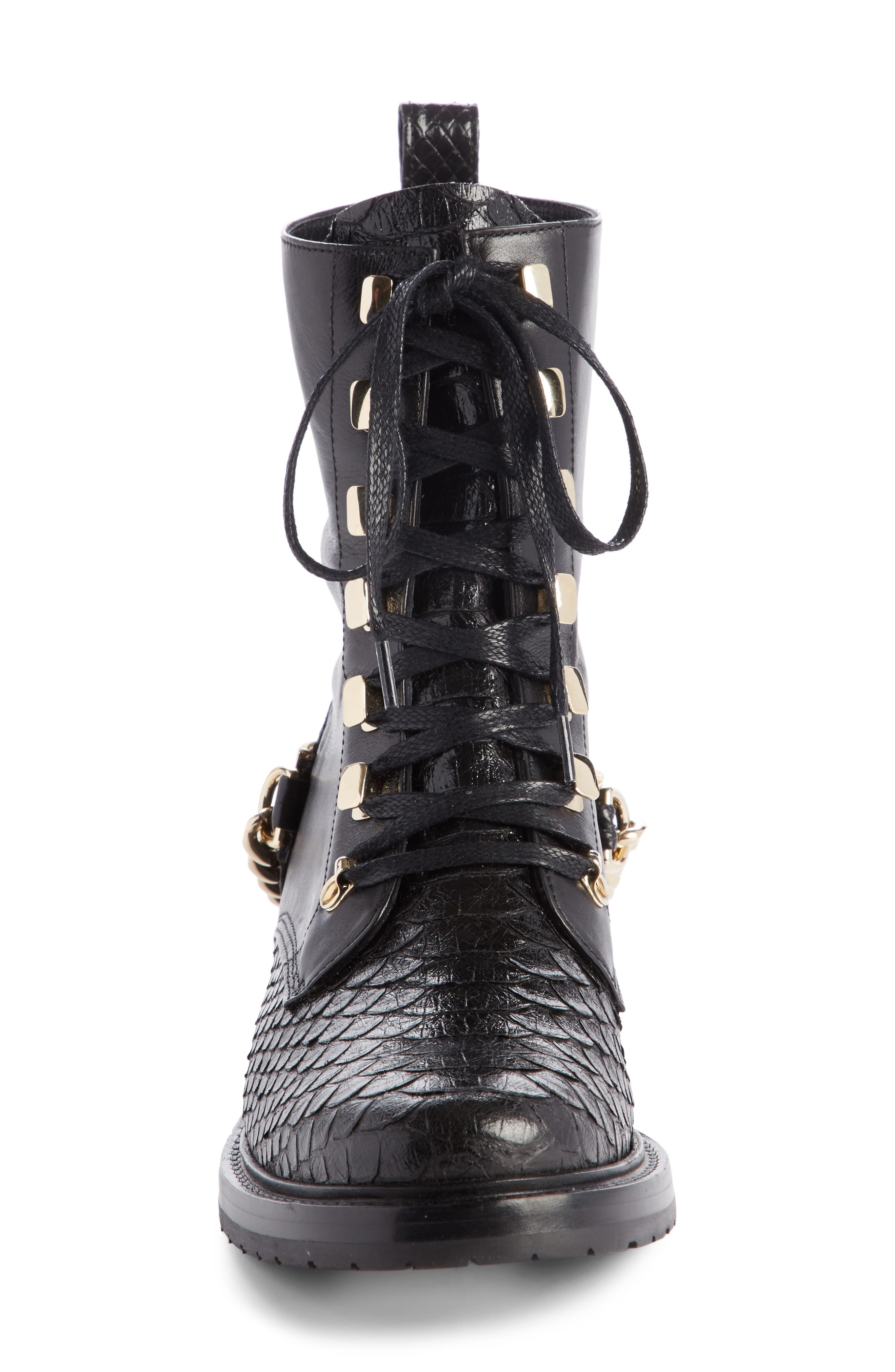 Alternate Image 3  - Lanvin Chain Biker Boot (Women)