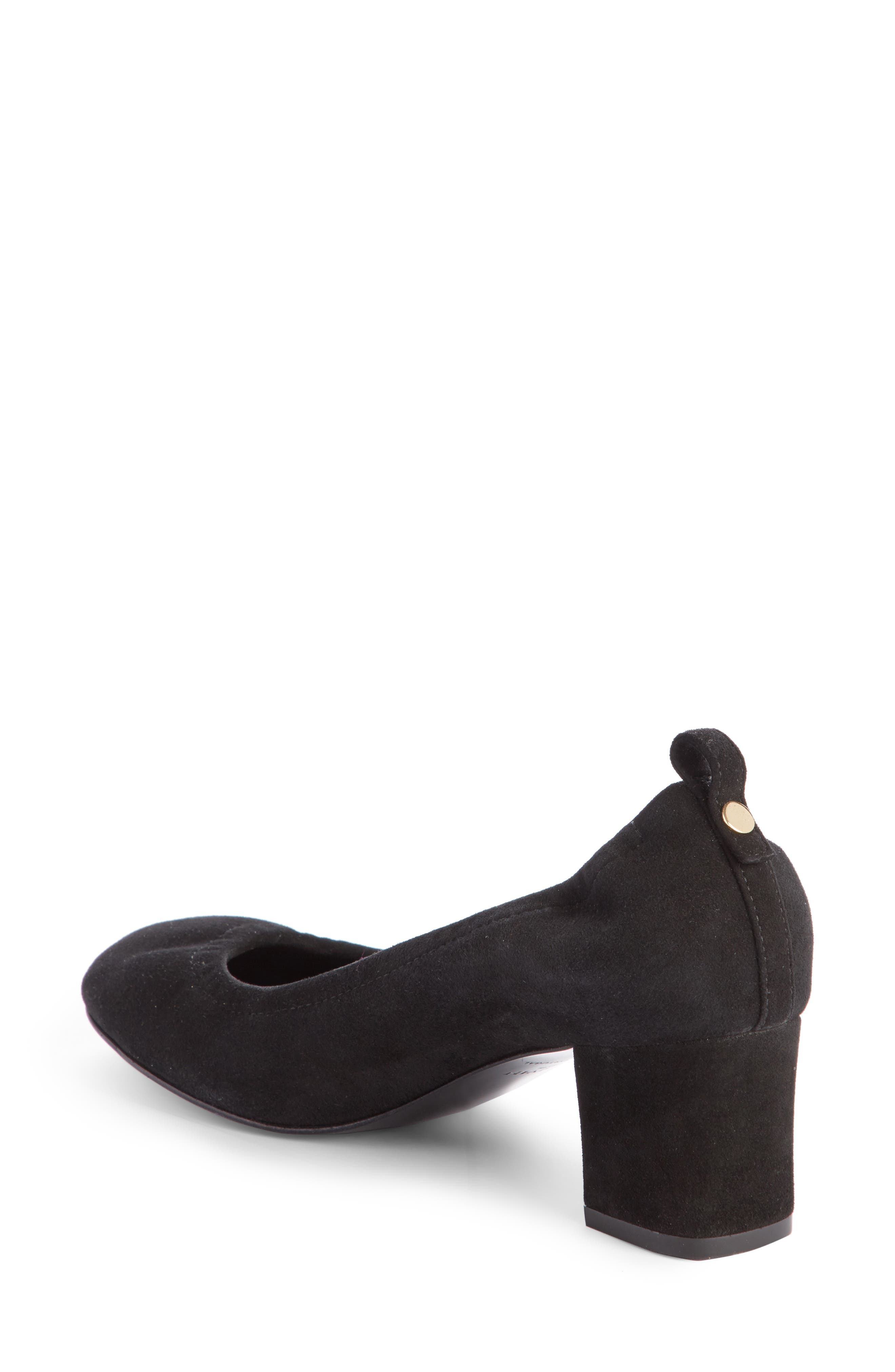 Alternate Image 2  - Lanvin Cube Block Heel Pump (Women)