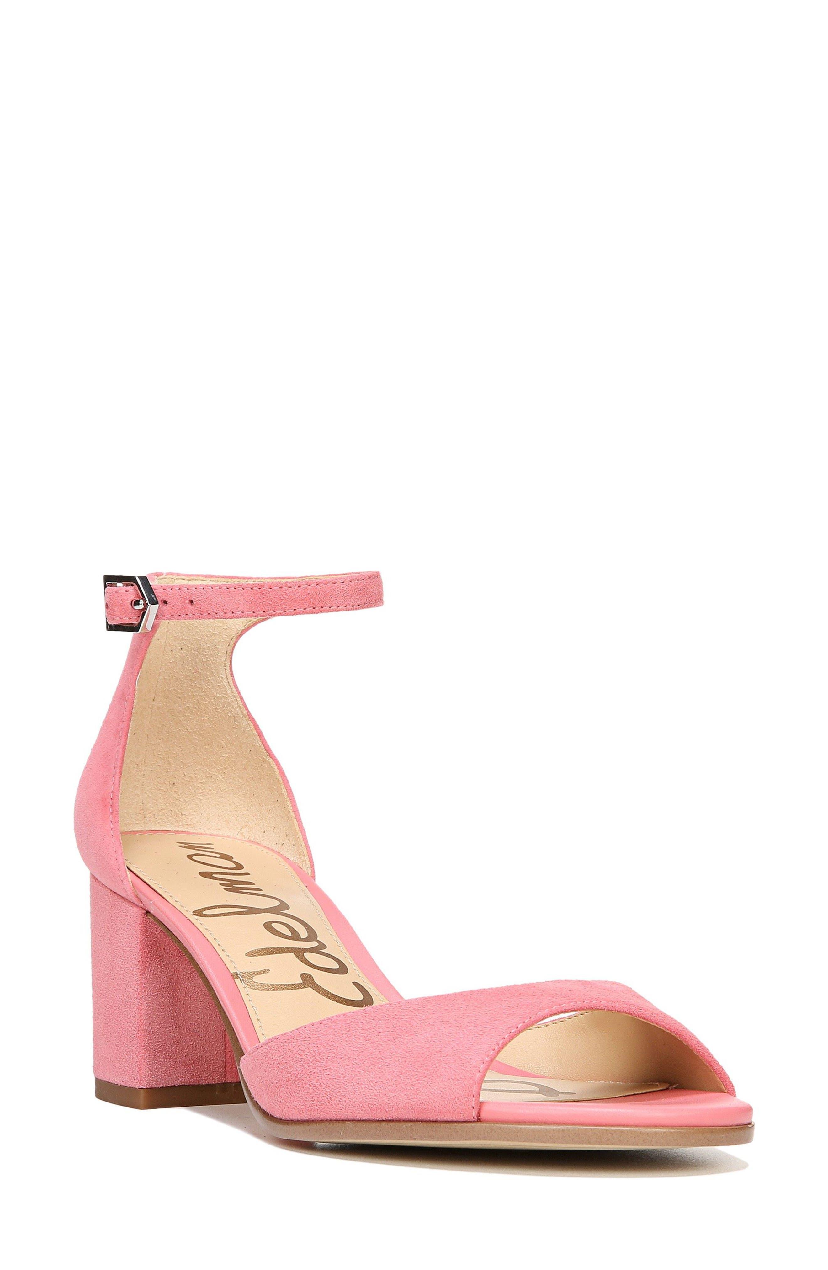 Sam Edelman Susie d'Orsay Ankle Strap Sandal (Women)