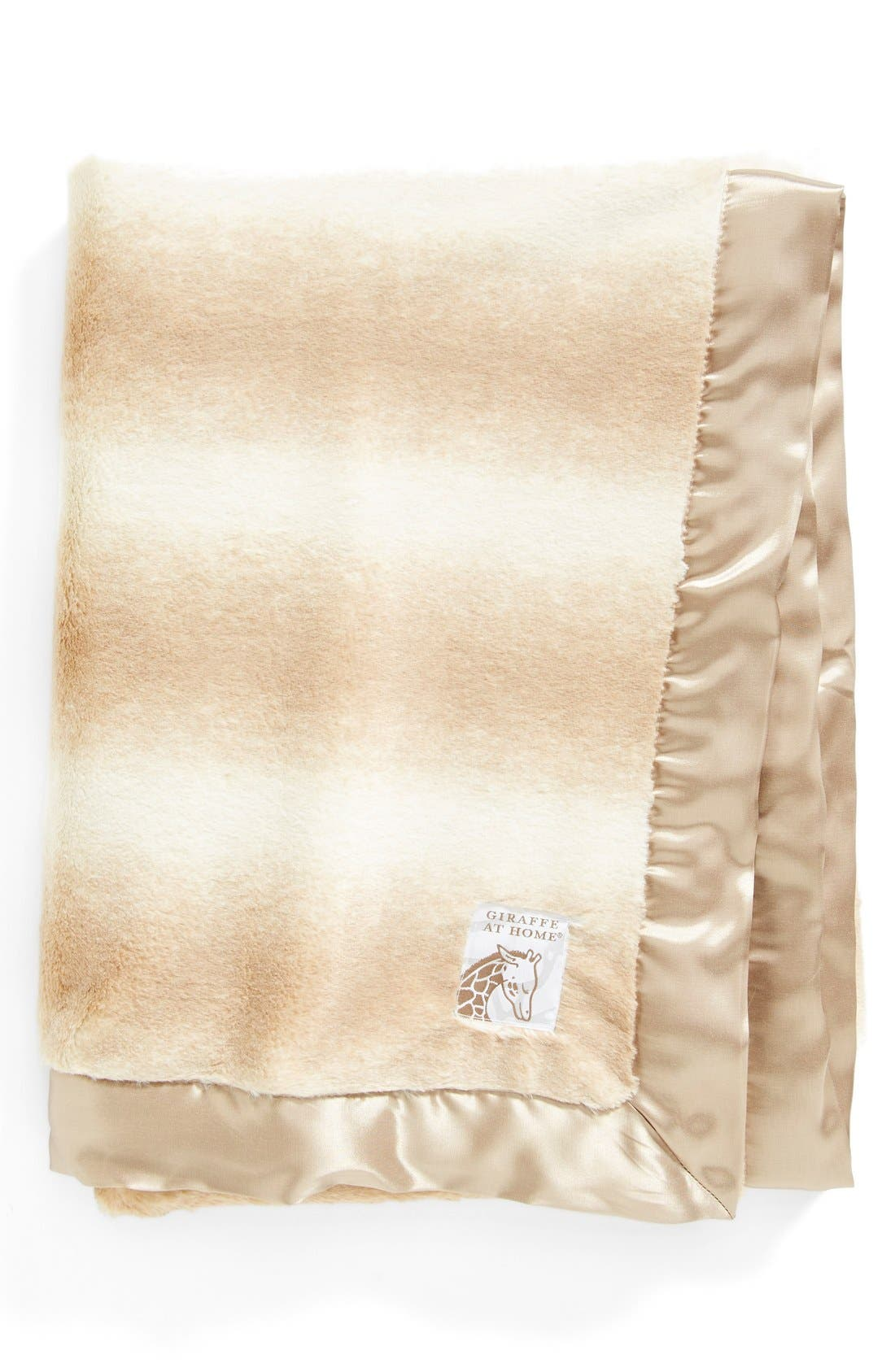 Alternate Image 1 Selected - Giraffe at Home Oversized 'Luxe Soufflé' Throw