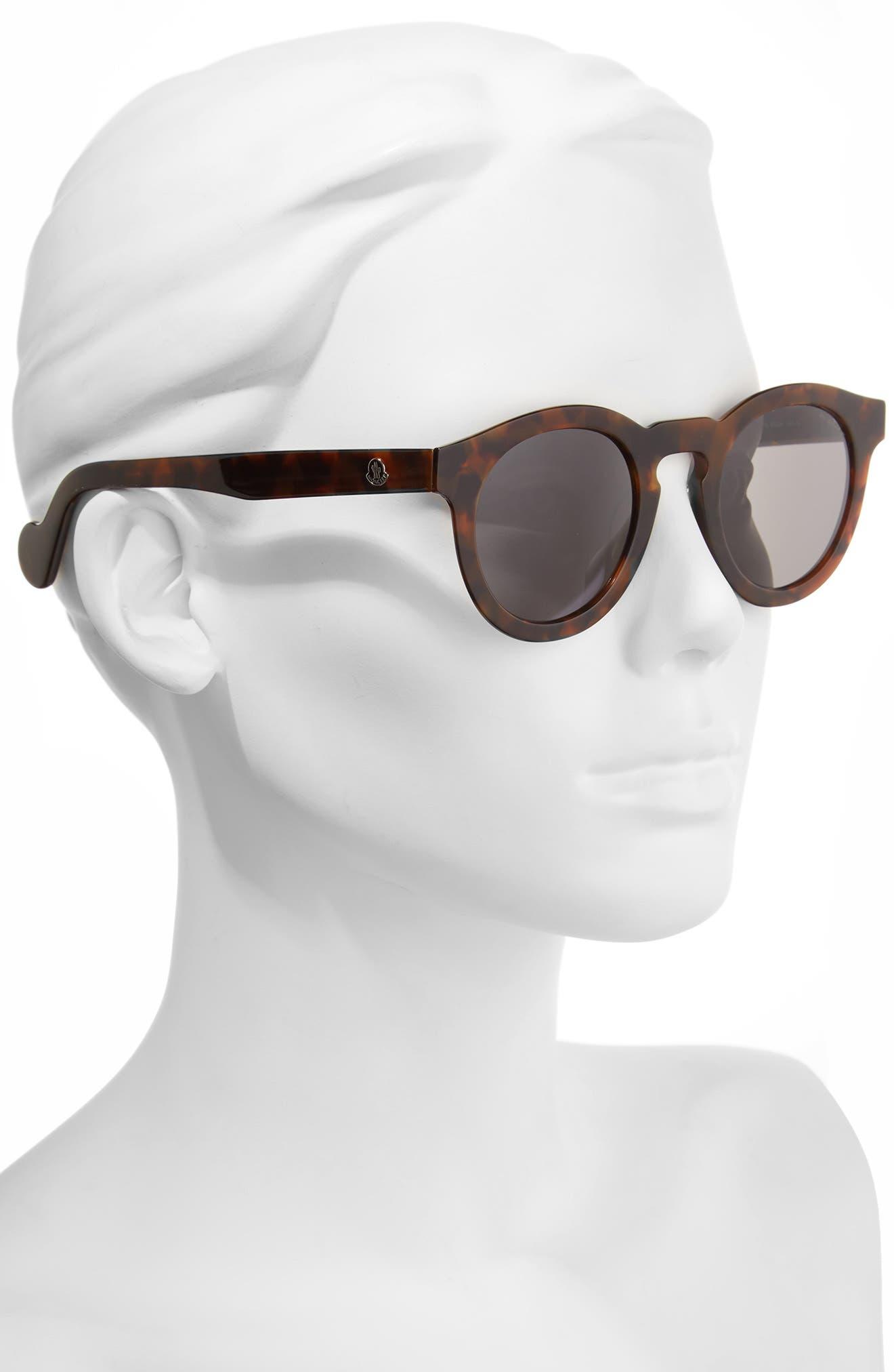 Alternate Image 2  - Moncler 49mm Keyhole Sunglasses