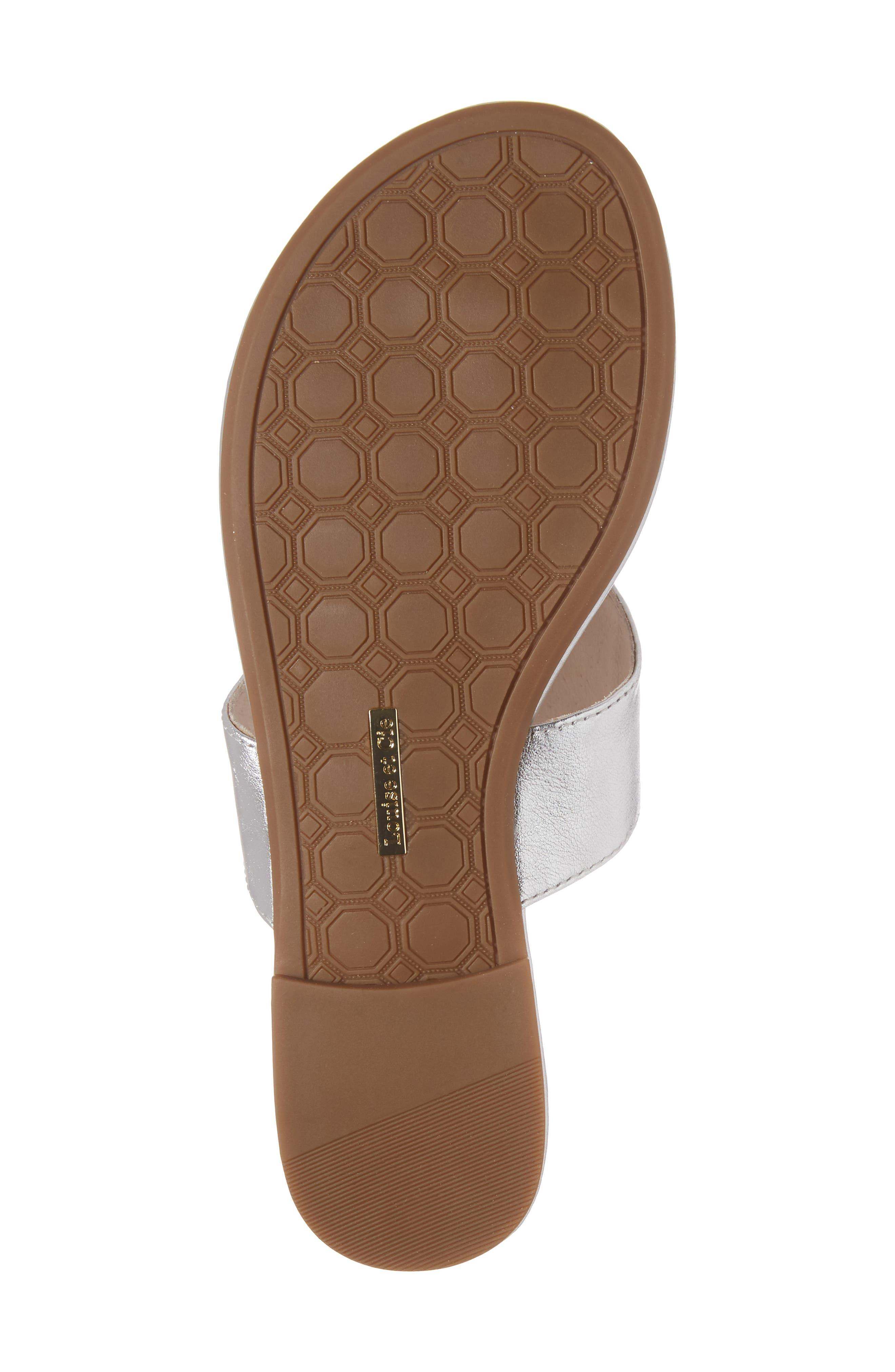 Adana Flip Flop,                             Alternate thumbnail 6, color,                             Sterling Leather