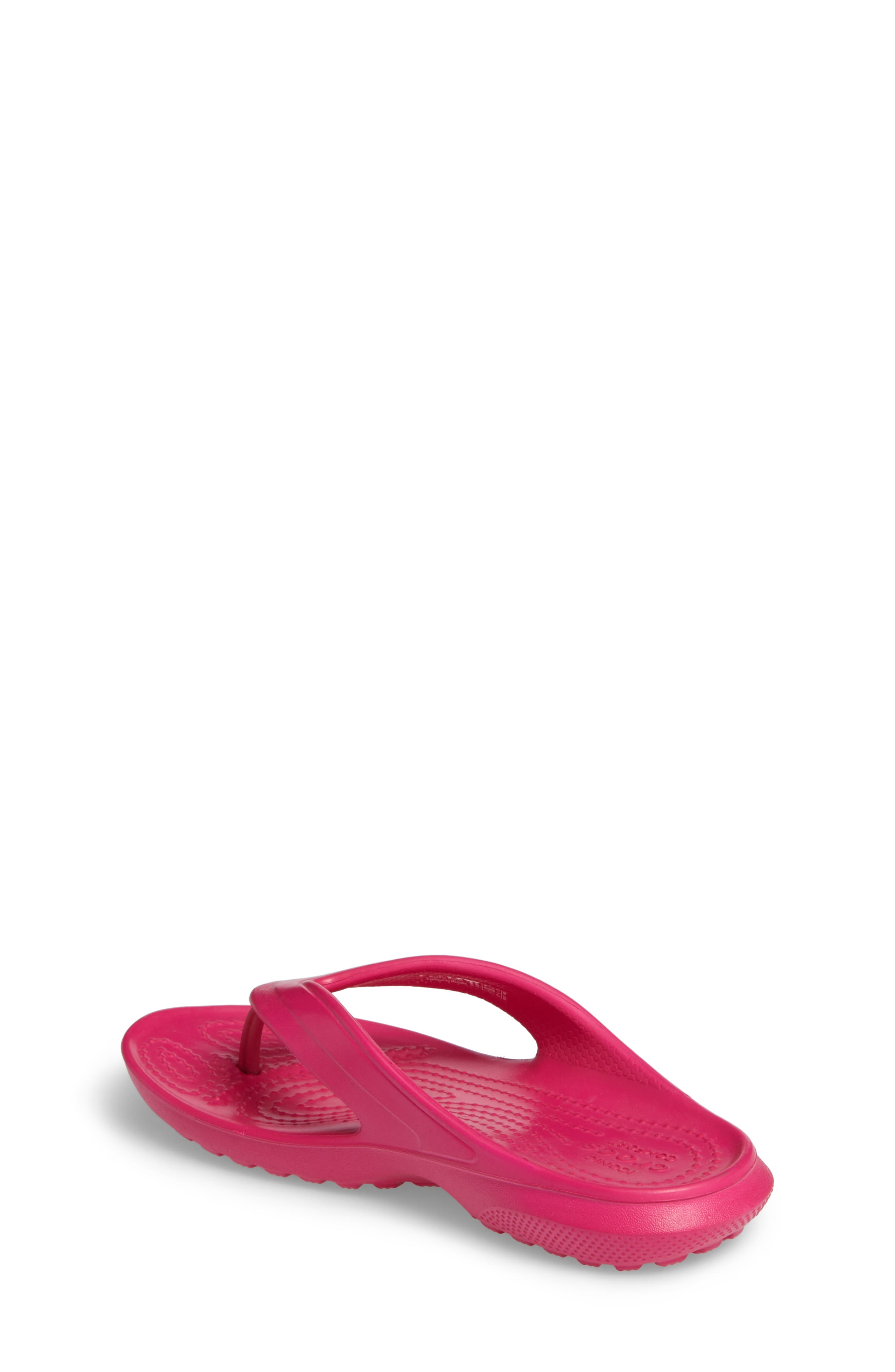 Classic Flip Flop,                             Alternate thumbnail 2, color,                             Candy Pink