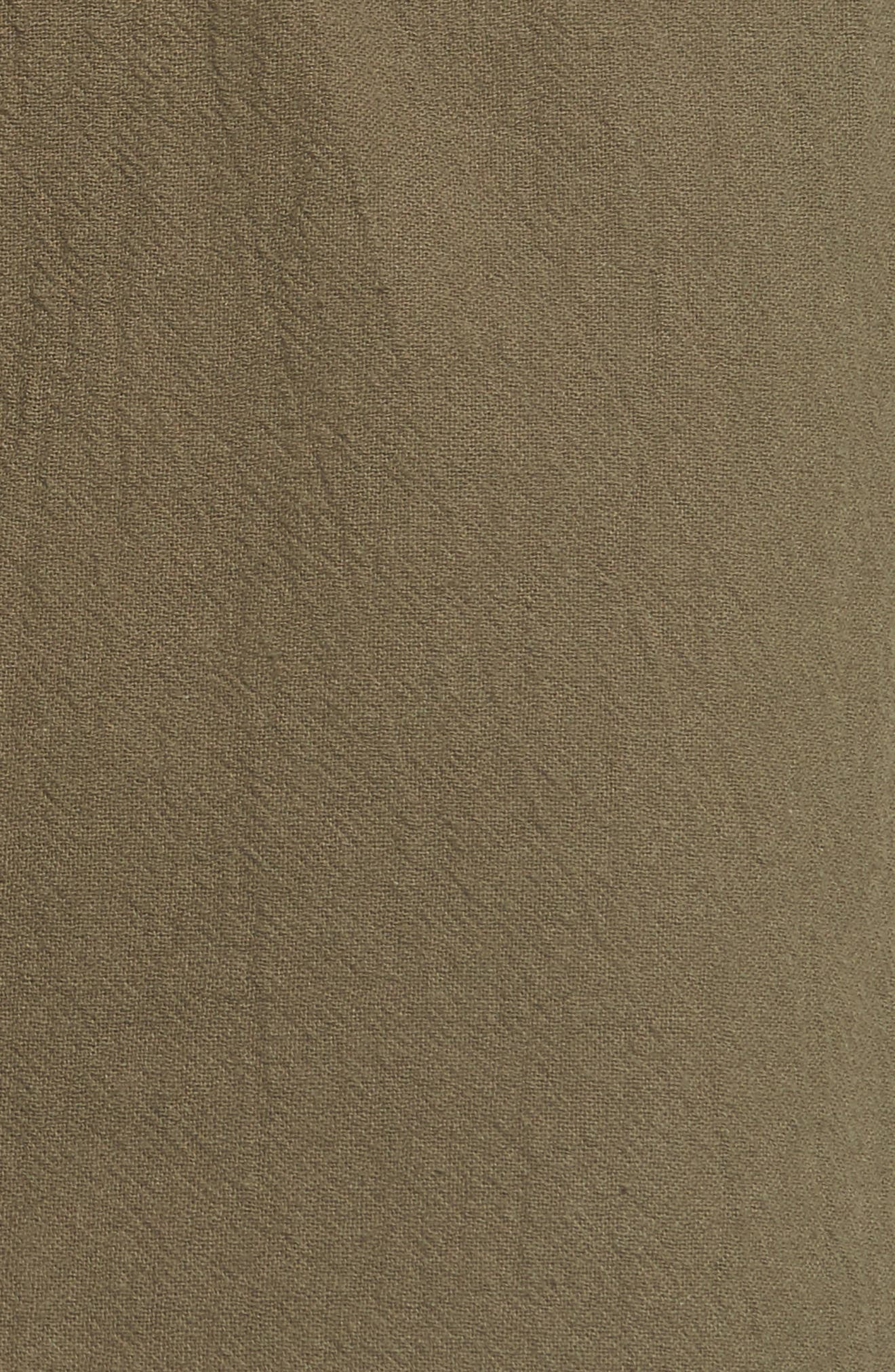Alternate Image 5  - June & Hudson Paperbag Miniskirt