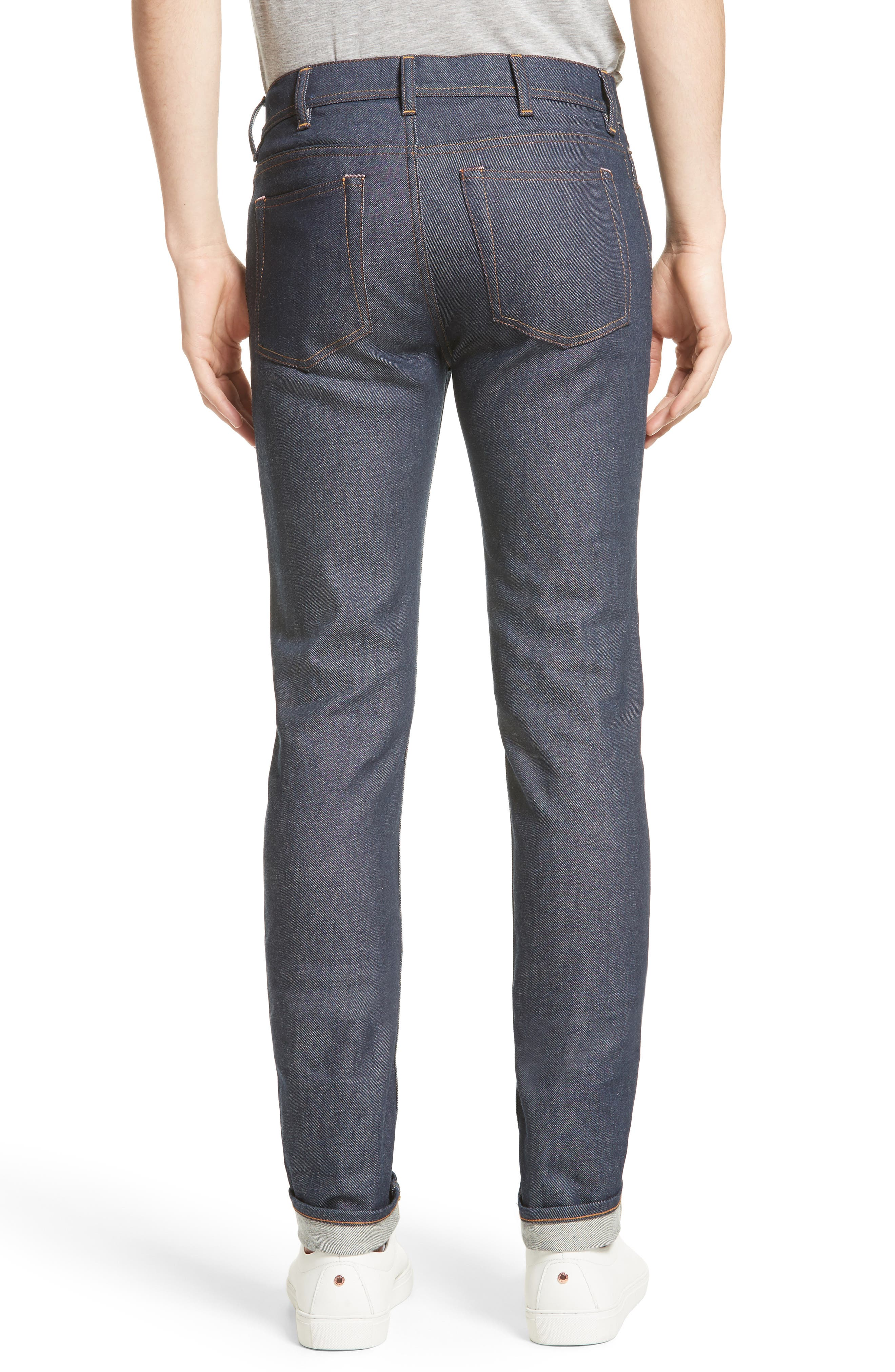 North Skinny Jeans,                             Alternate thumbnail 2, color,                             Indigo