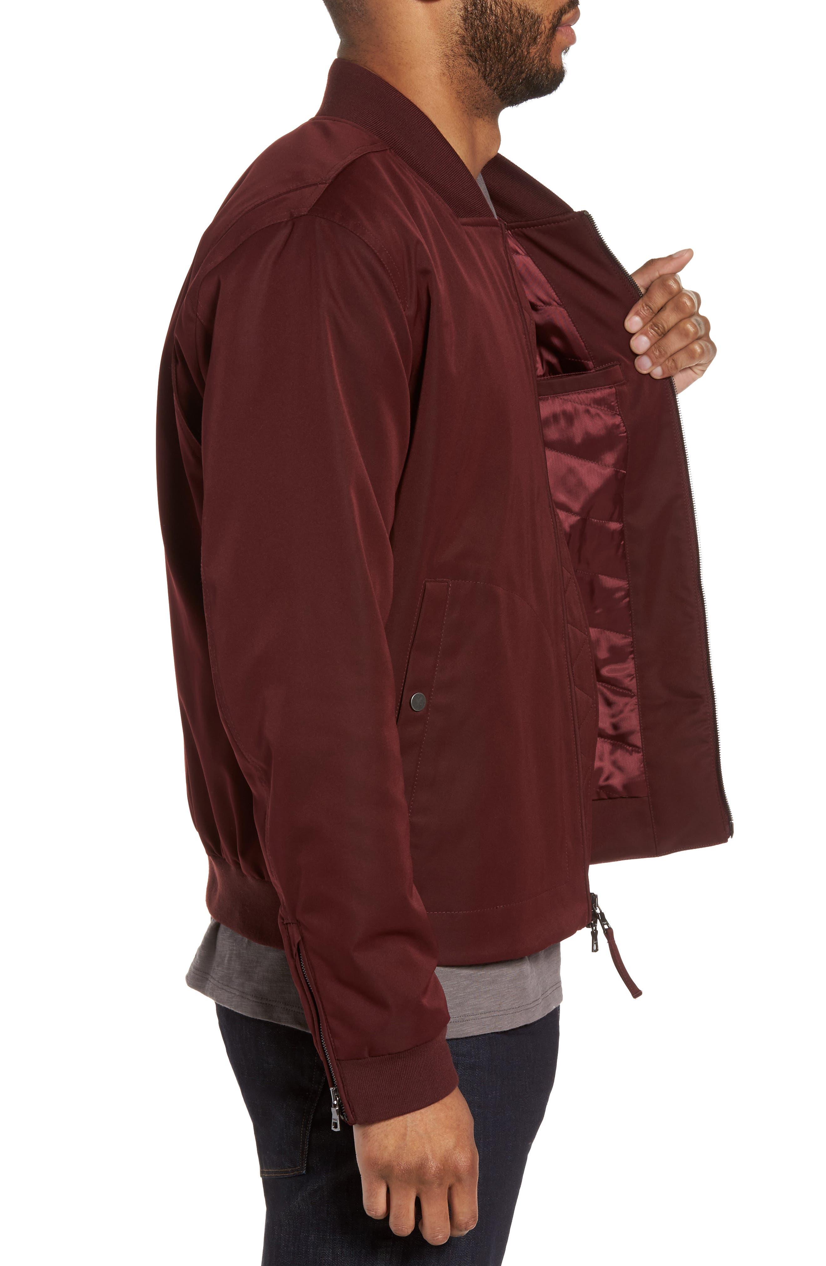 Alternate Image 3  - Vince Utility Bomber Jacket