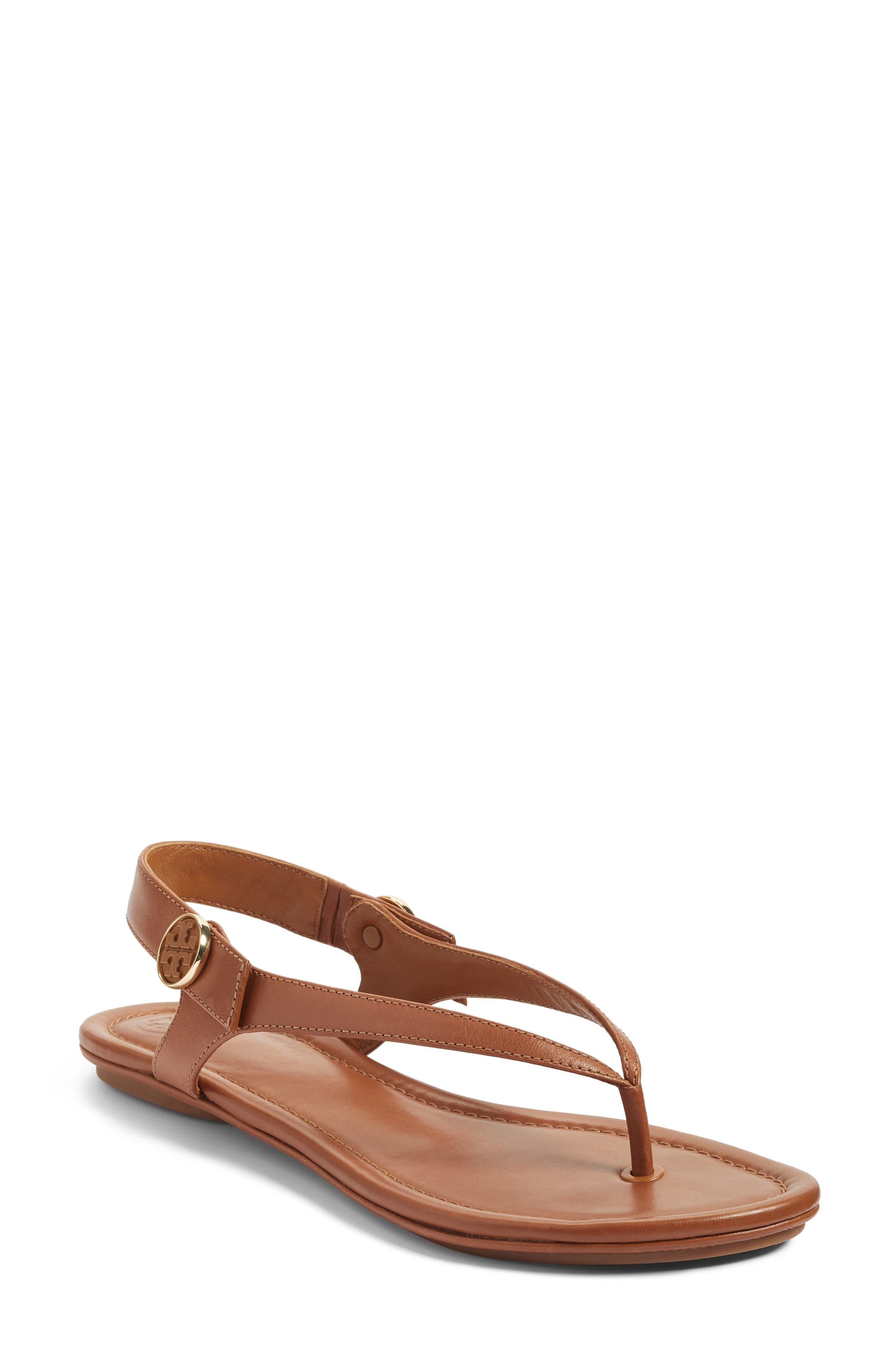 Alternate Image 1 Selected - Tory Burch Minnie Travel Thong Sandal (Women)