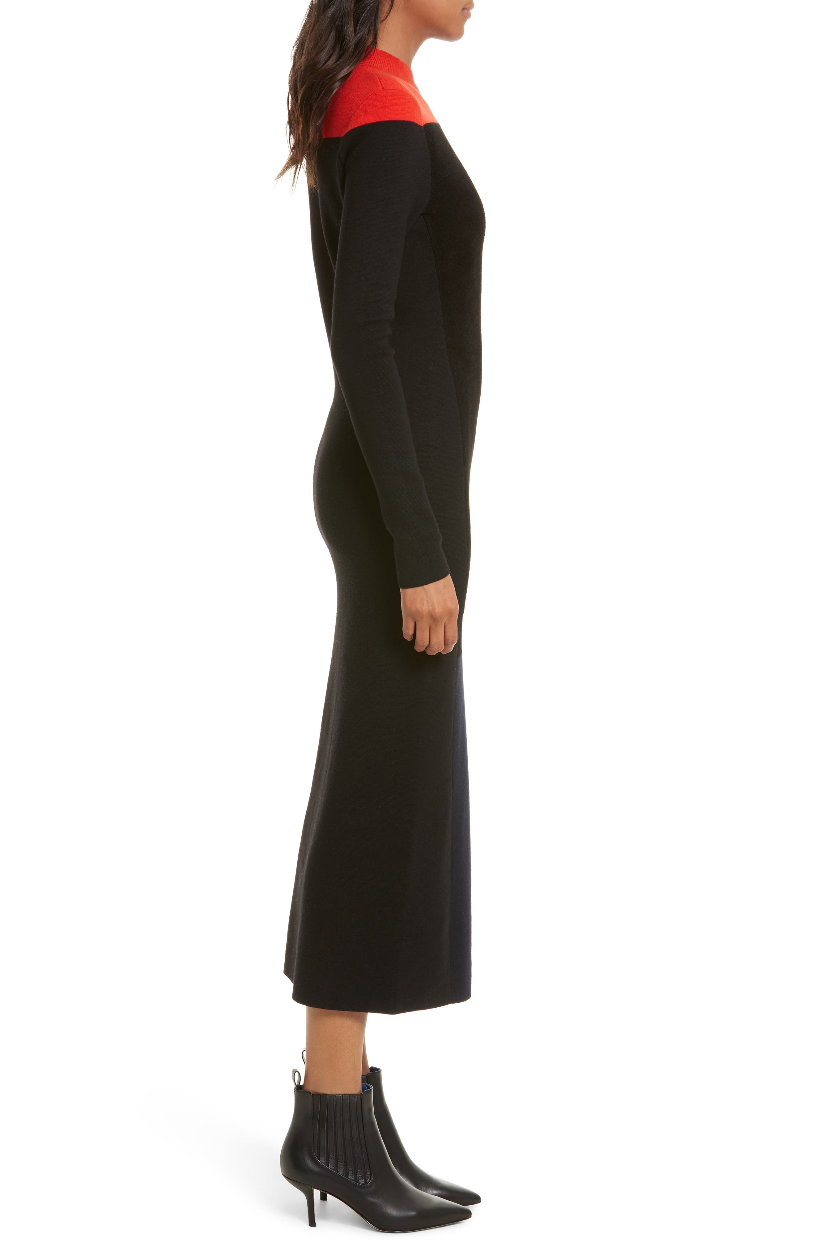 Alternate Image 3  - Diane von Furstenberg Contrast Yoke Midi Dress