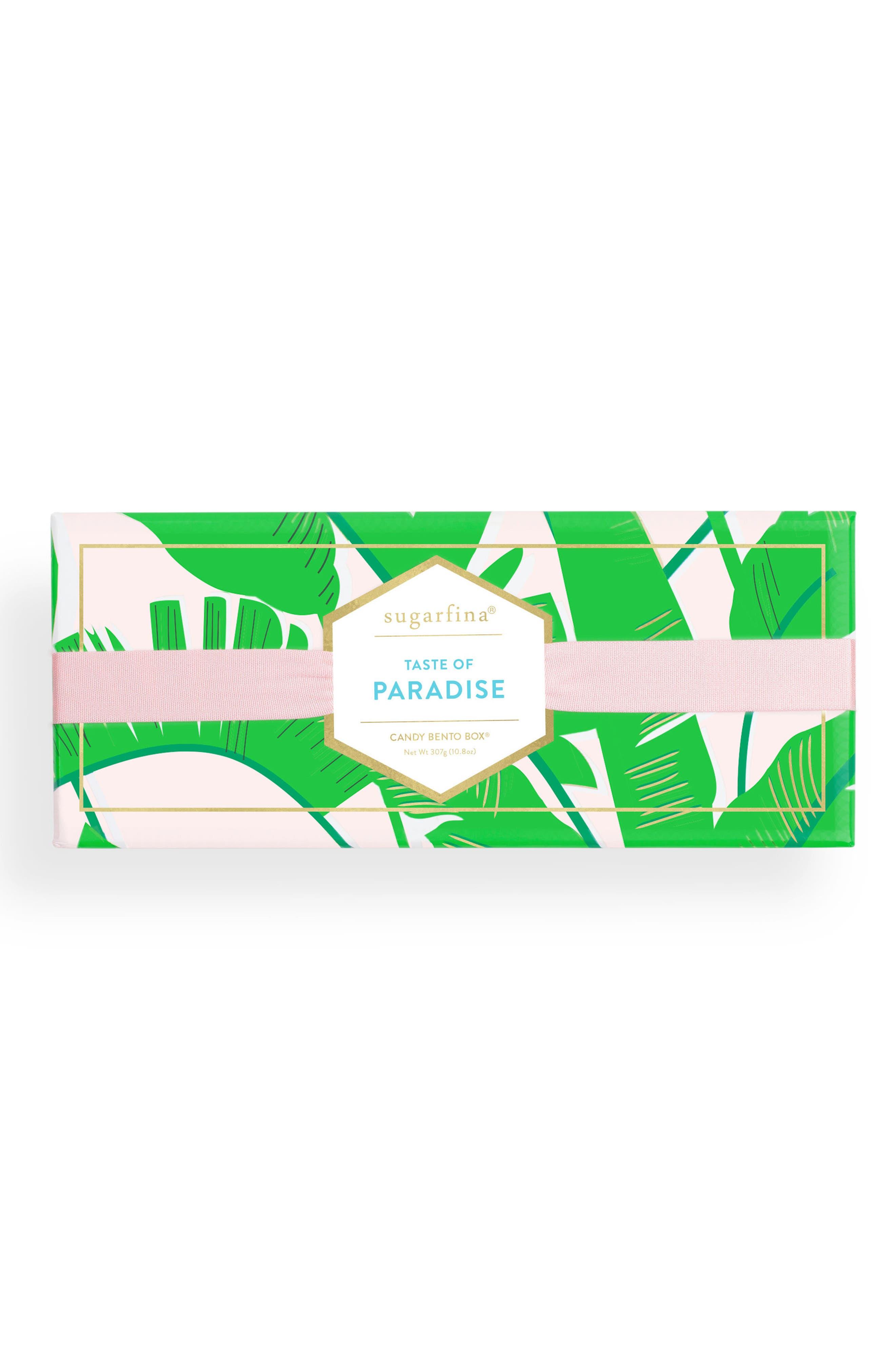 Taste of Paradise Candy Bento Box,                             Alternate thumbnail 3, color,                             Green