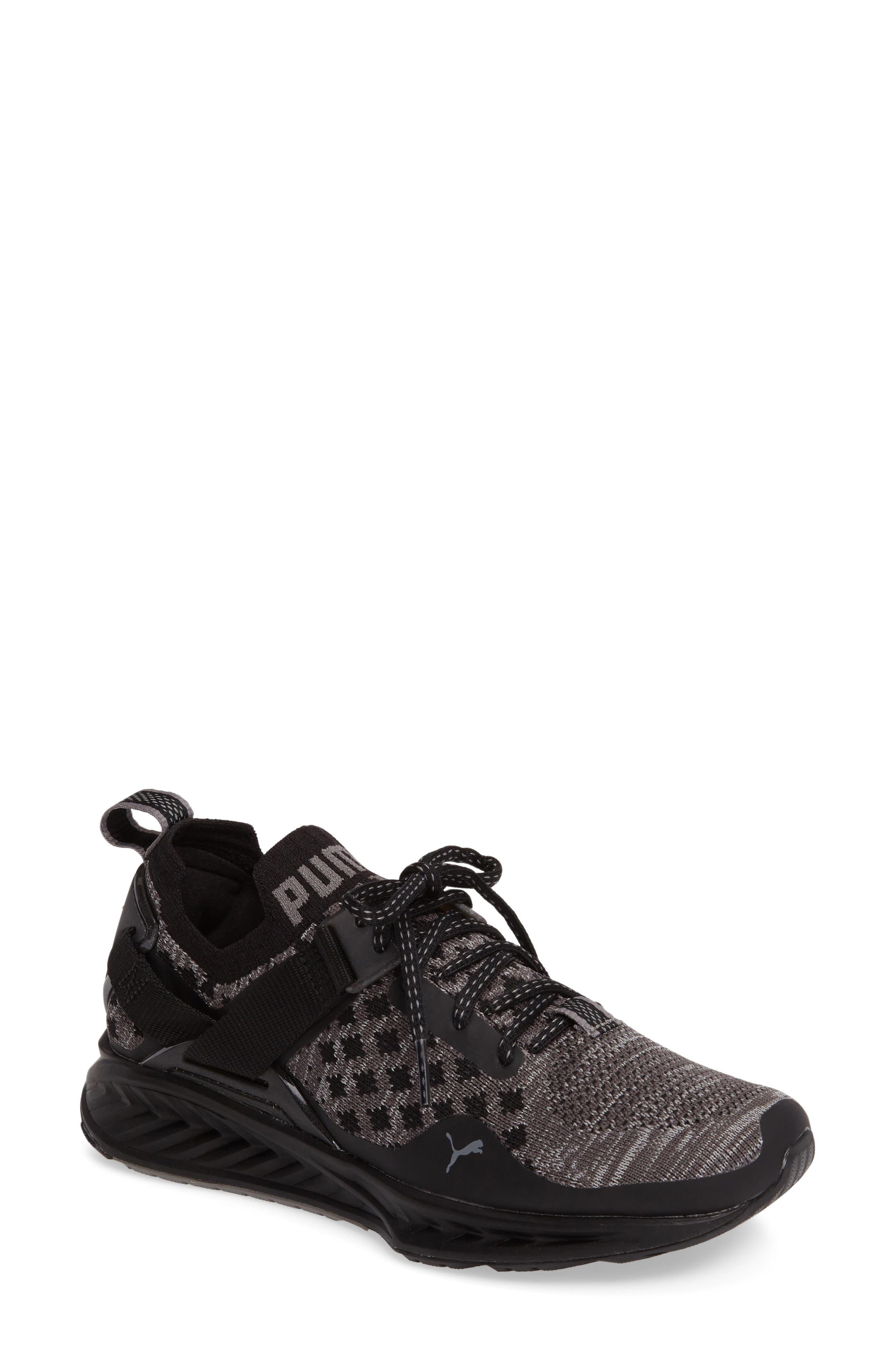 Alternate Image 1 Selected - PUMA IGNITE evoKNIT Low Sneaker (Women)