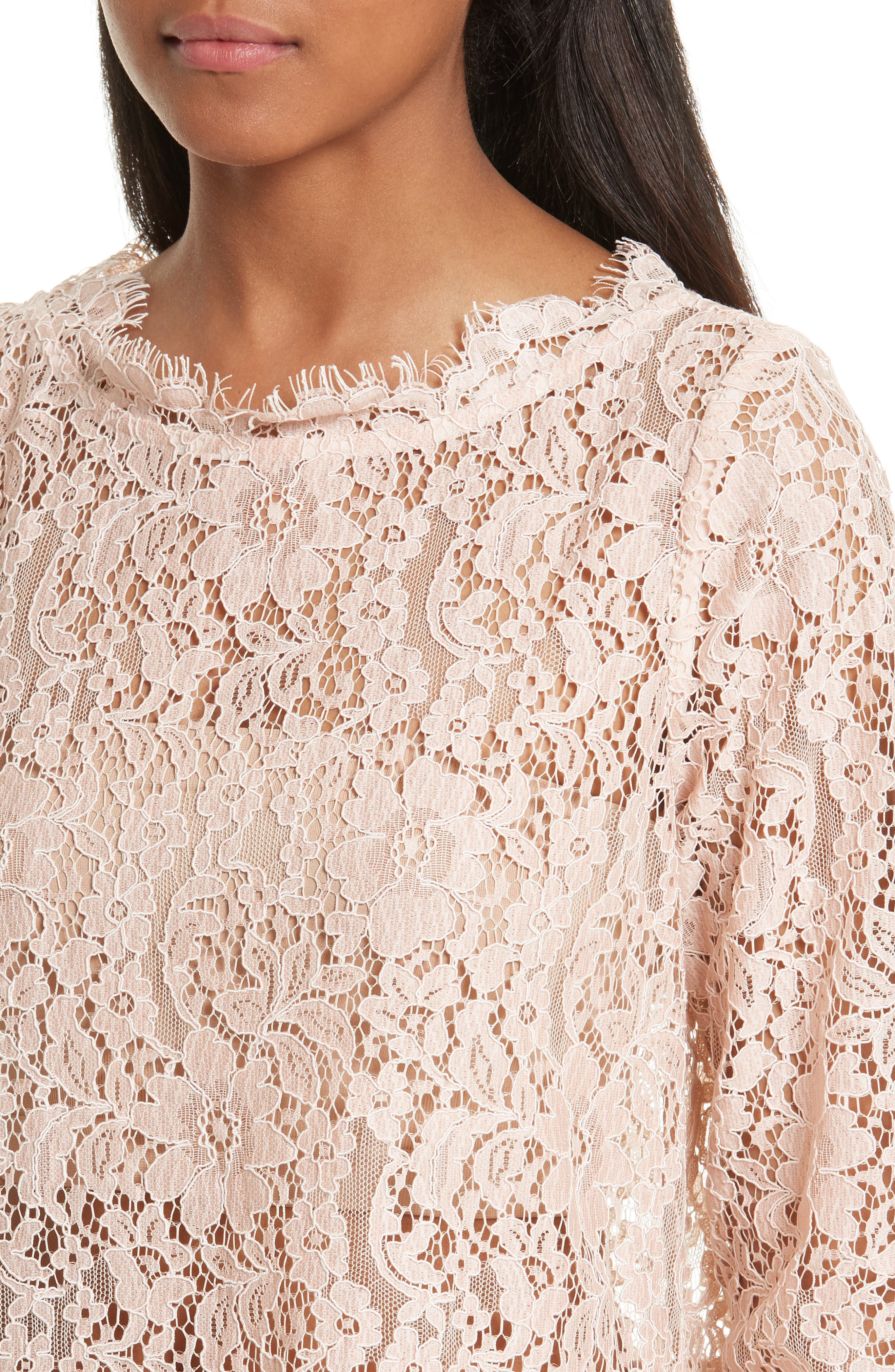 Alternate Image 4  - Joie Koda Lace Top