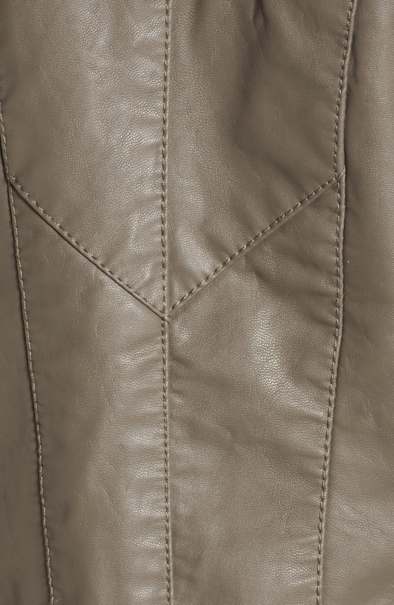 Alternate Image 5  - BLANKNYC Faux Leather Jacket
