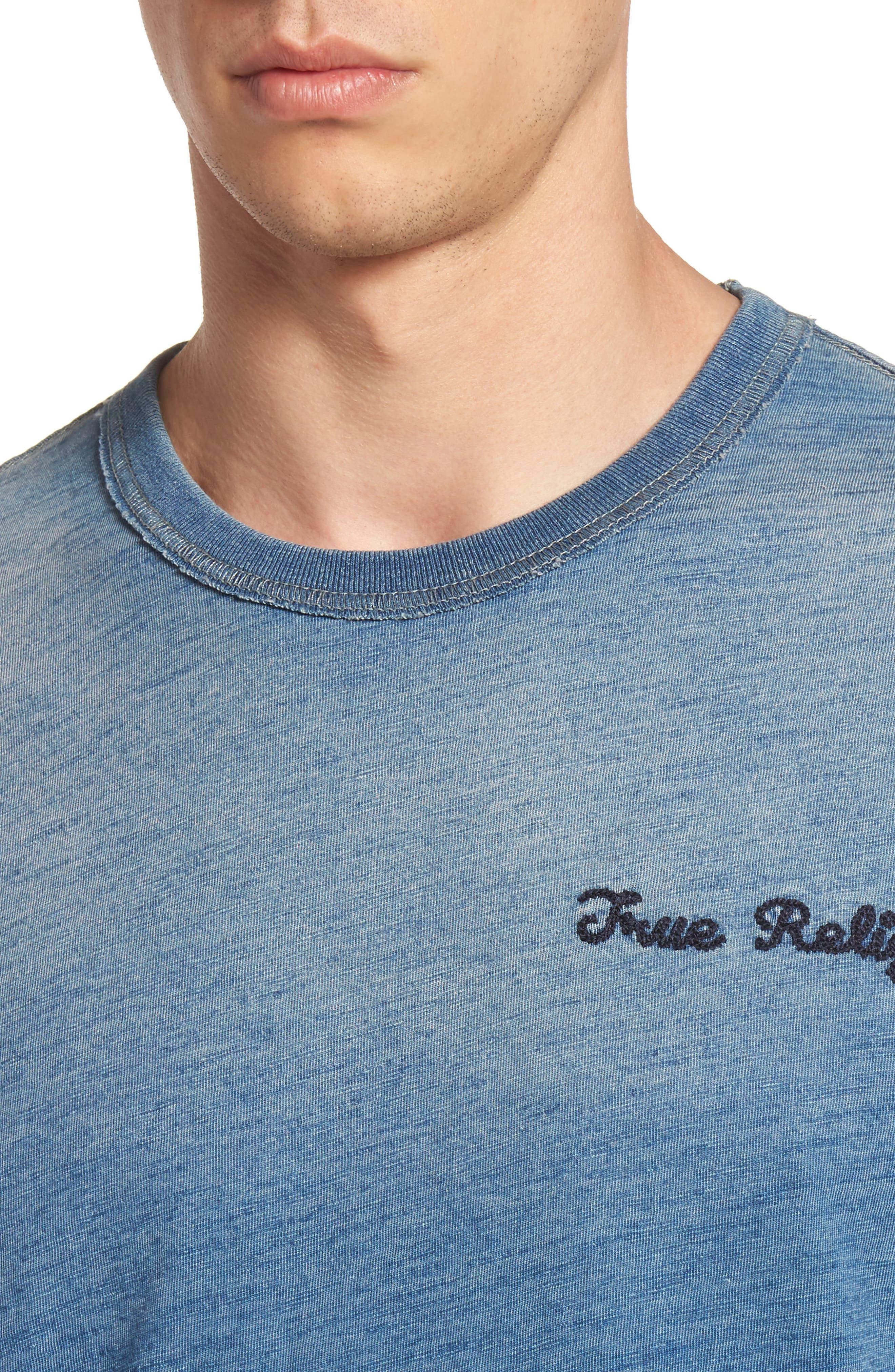 Alternate Image 4  - True Religion Brand Jeans Eagle Shadow T-Shirt