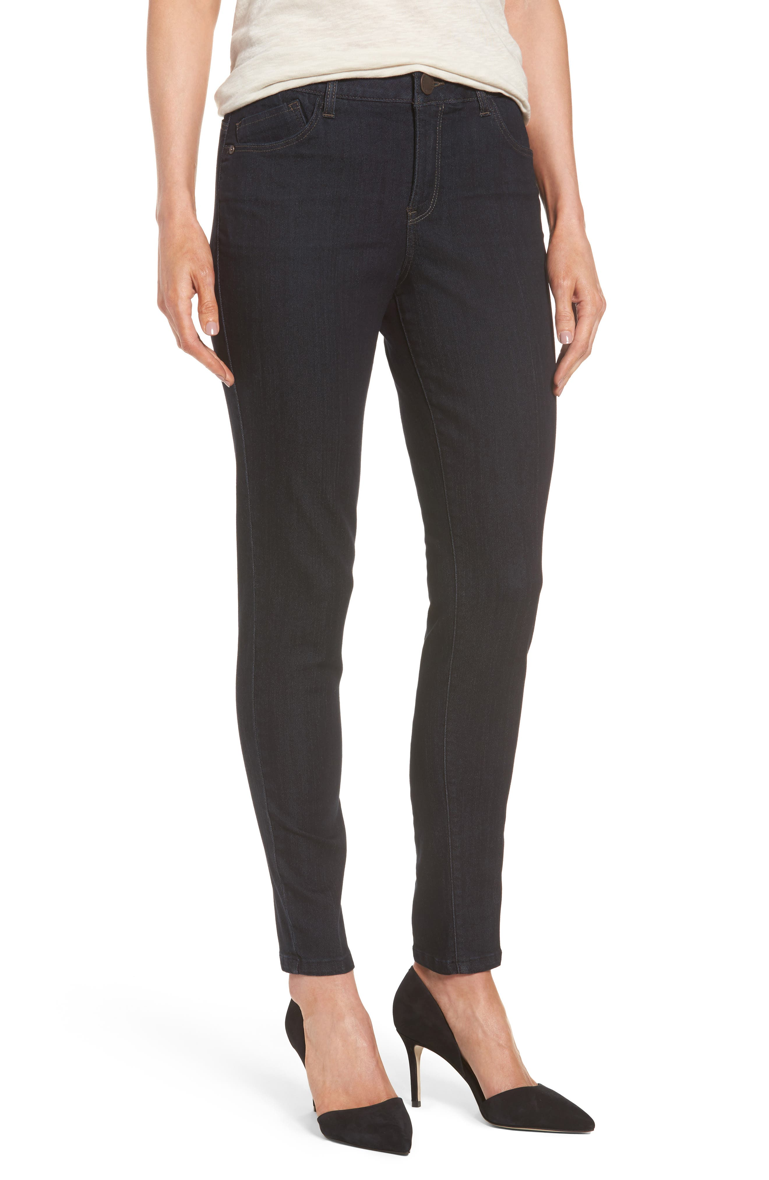 Wit & Wisdom Ab-solution High Rise Skinny Jeans (Nordstrom Exclusive)