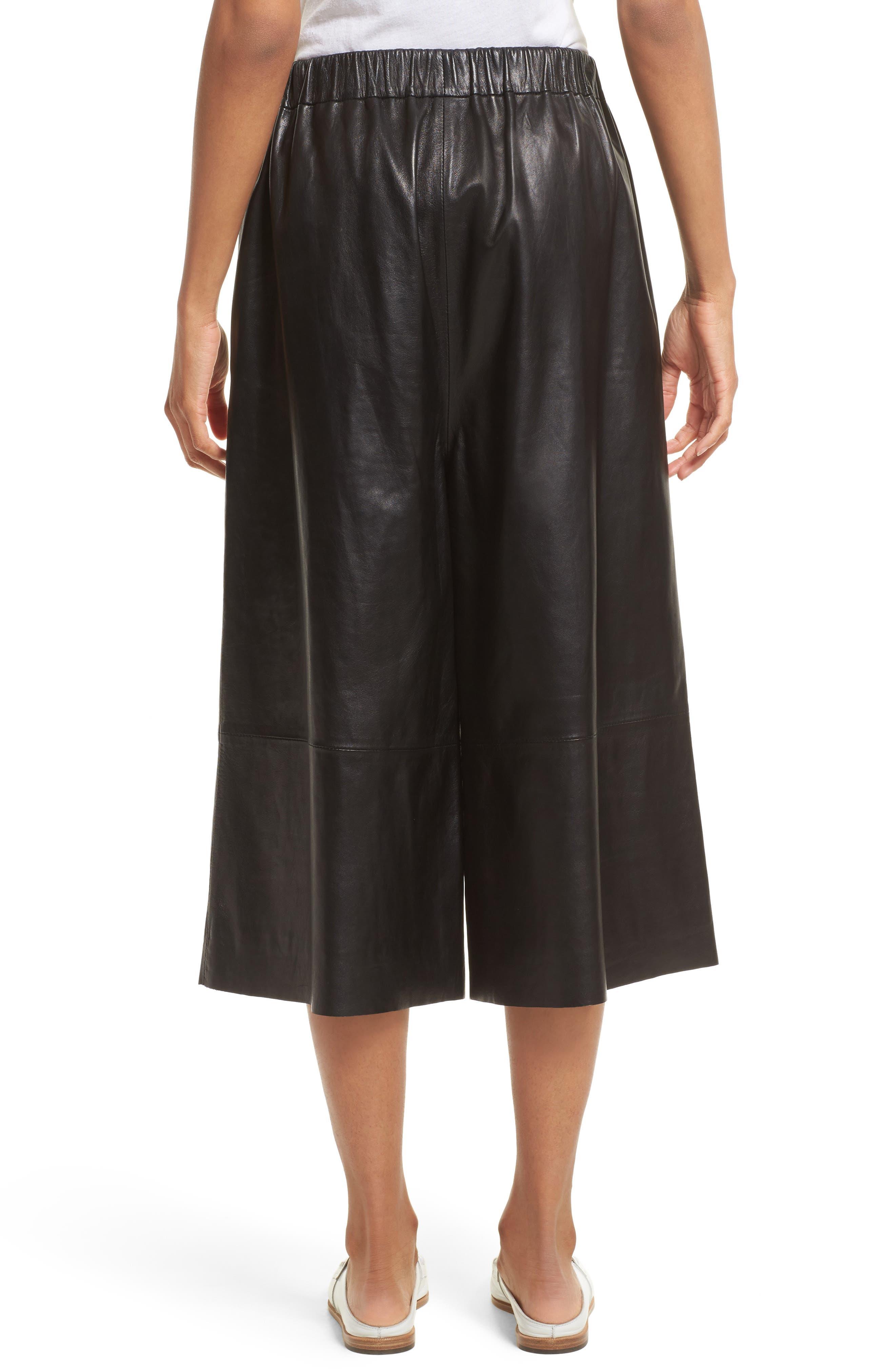 Alternate Image 3  - Robert Rodriguez Leather Gaucho Pants