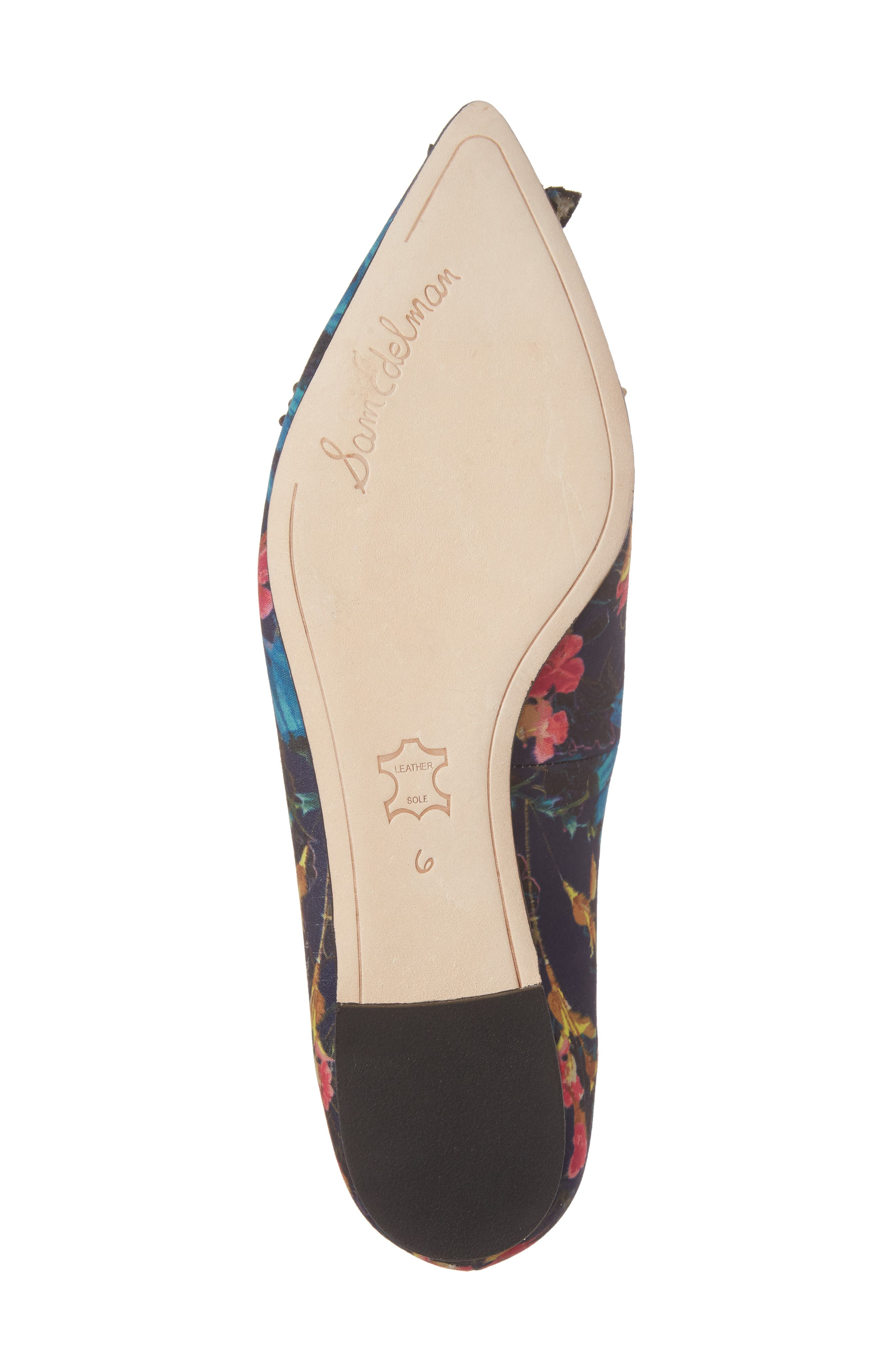 Alternate Image 6  - Sam Edelman Rafaella Pointy Toe Ballet Flat (Women)