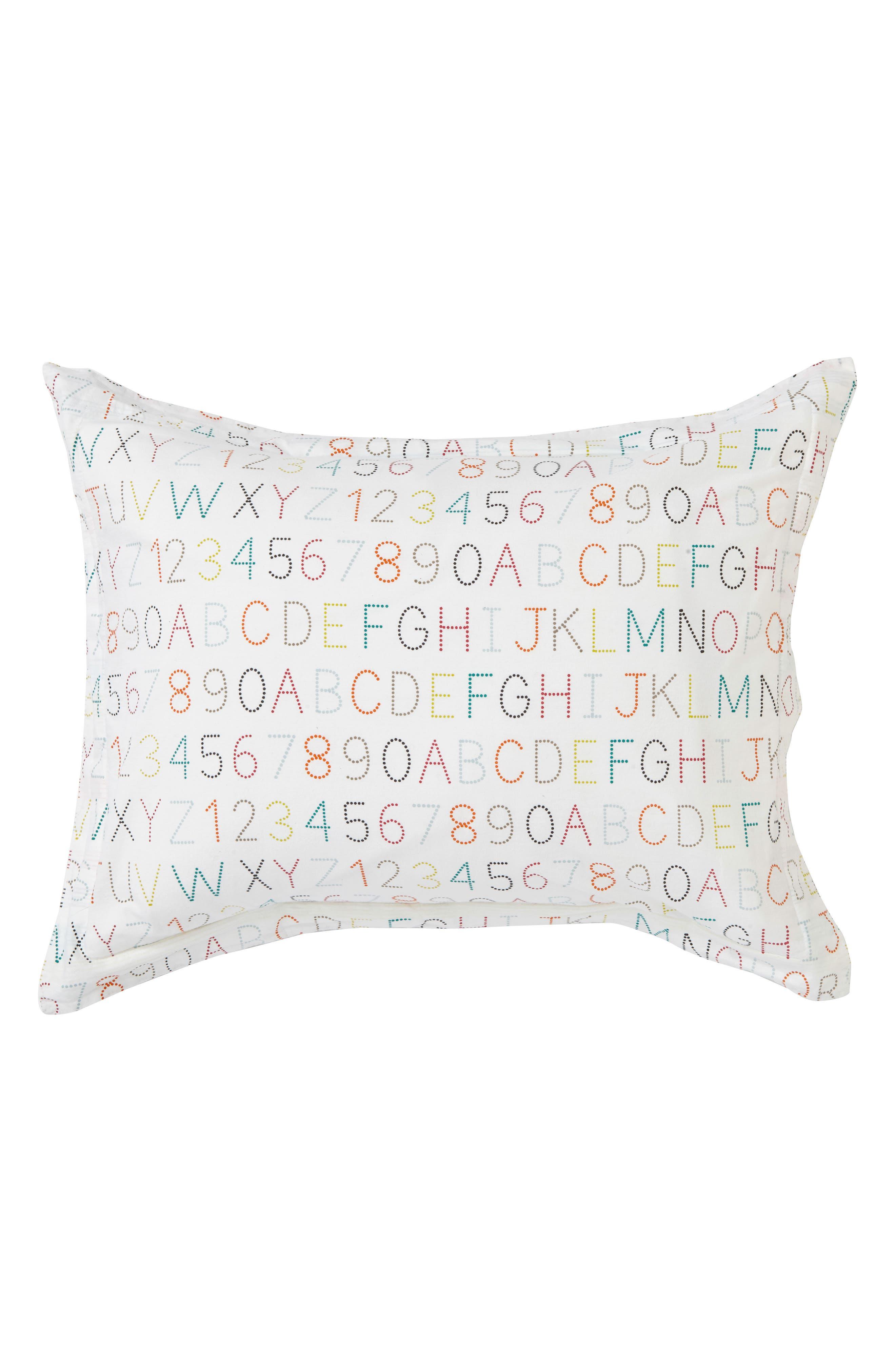 Alphabet Reversible Sham,                         Main,                         color, Multi